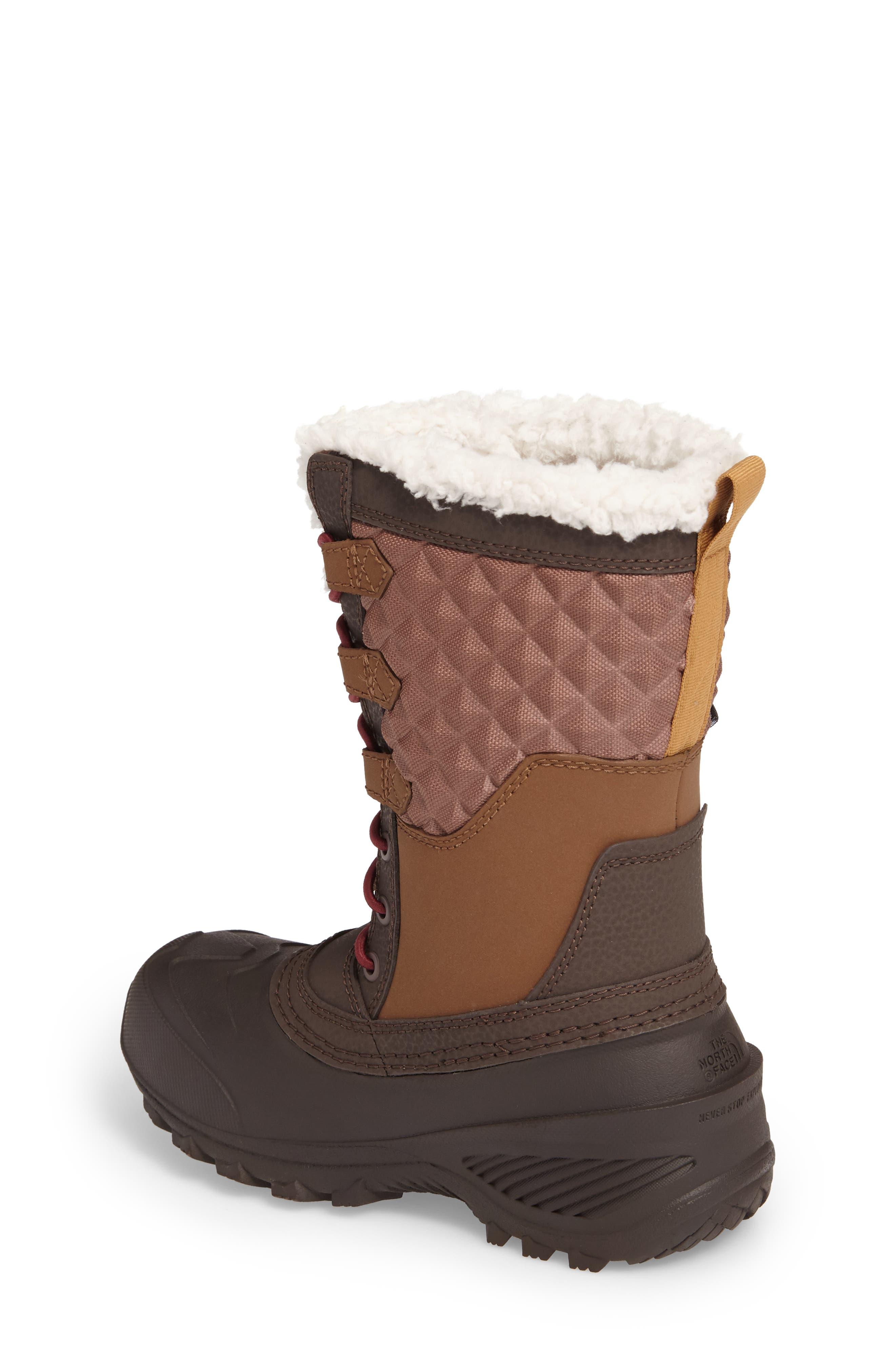 Shellista Lace III Faux Fur Waterproof Boot,                             Alternate thumbnail 5, color,