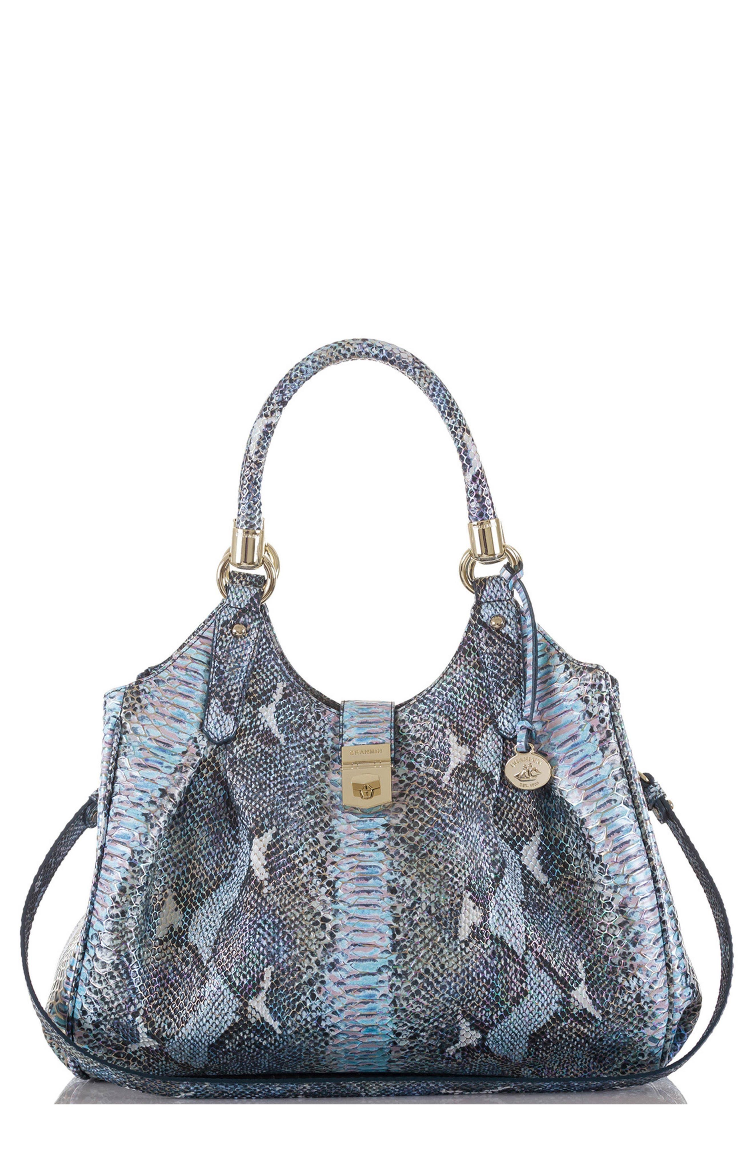 'Elisa' Leather Shopper,                             Main thumbnail 1, color,                             400