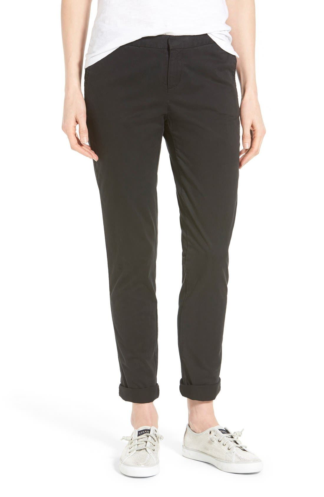 Chino Ankle Pants, Main, color, 001