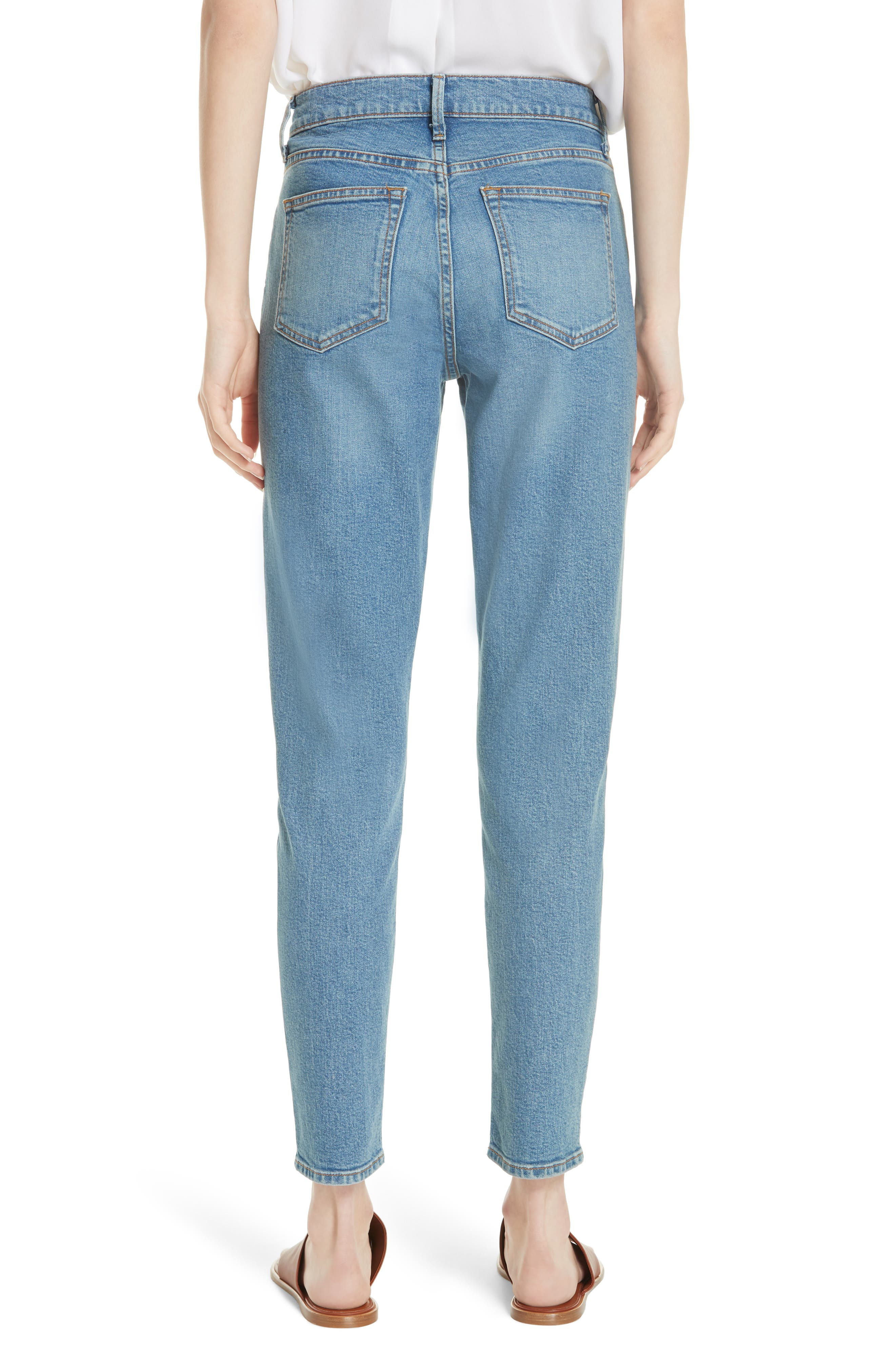 5-Pocket Skinny Jeans,                             Alternate thumbnail 2, color,                             LIGHT WASH