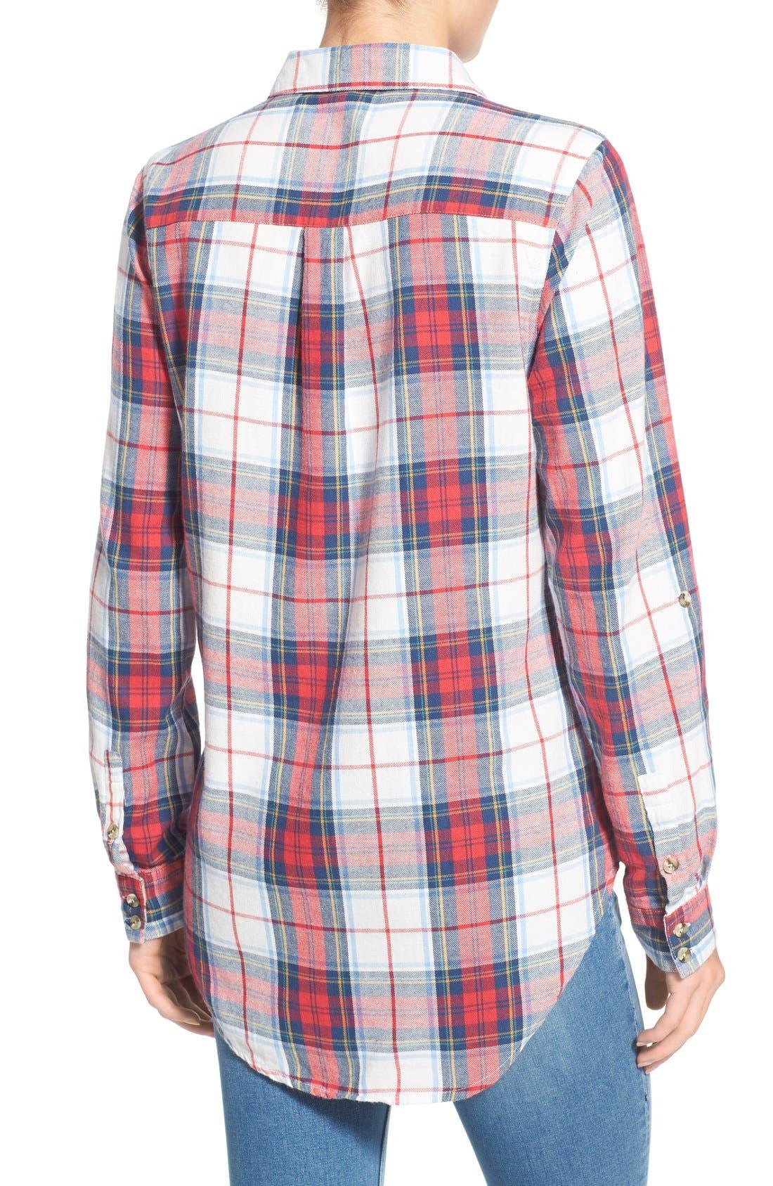 THREAD & SUPPLY,                             'Humboldt' Plaid Shirt,                             Alternate thumbnail 3, color,                             600