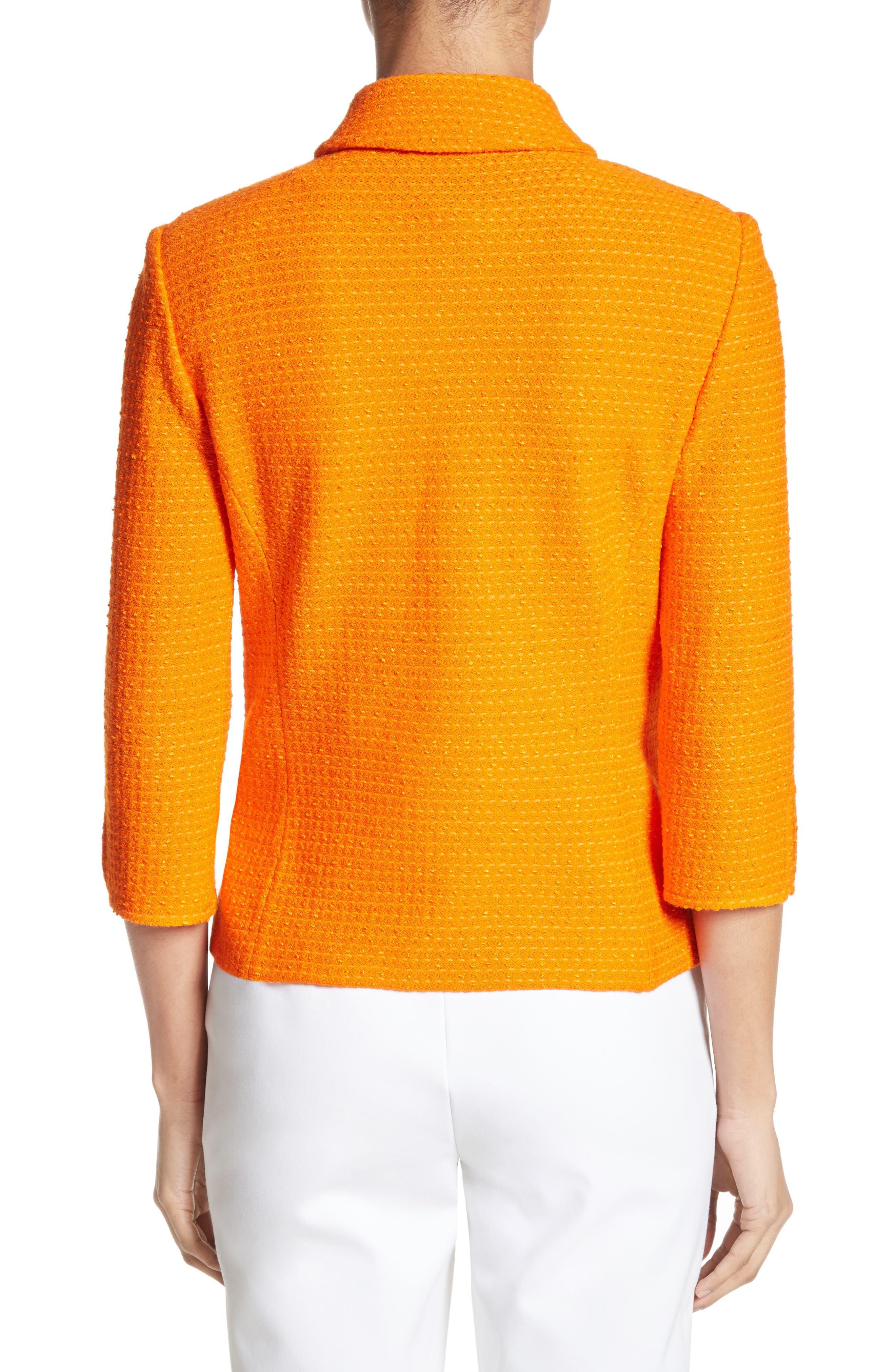Ribbon Texture Knit Jacket,                             Alternate thumbnail 2, color,                             820