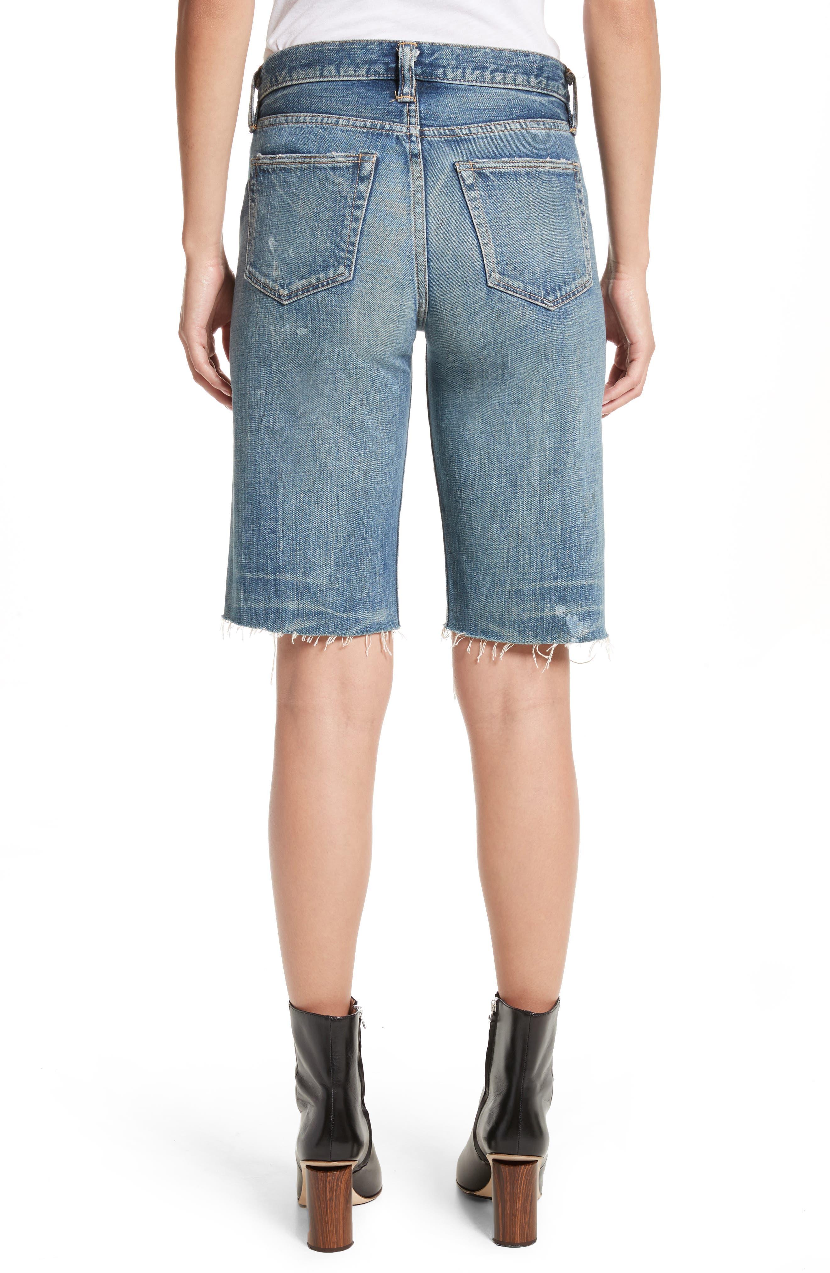 Gannett Denim Shorts,                             Alternate thumbnail 2, color,                             400