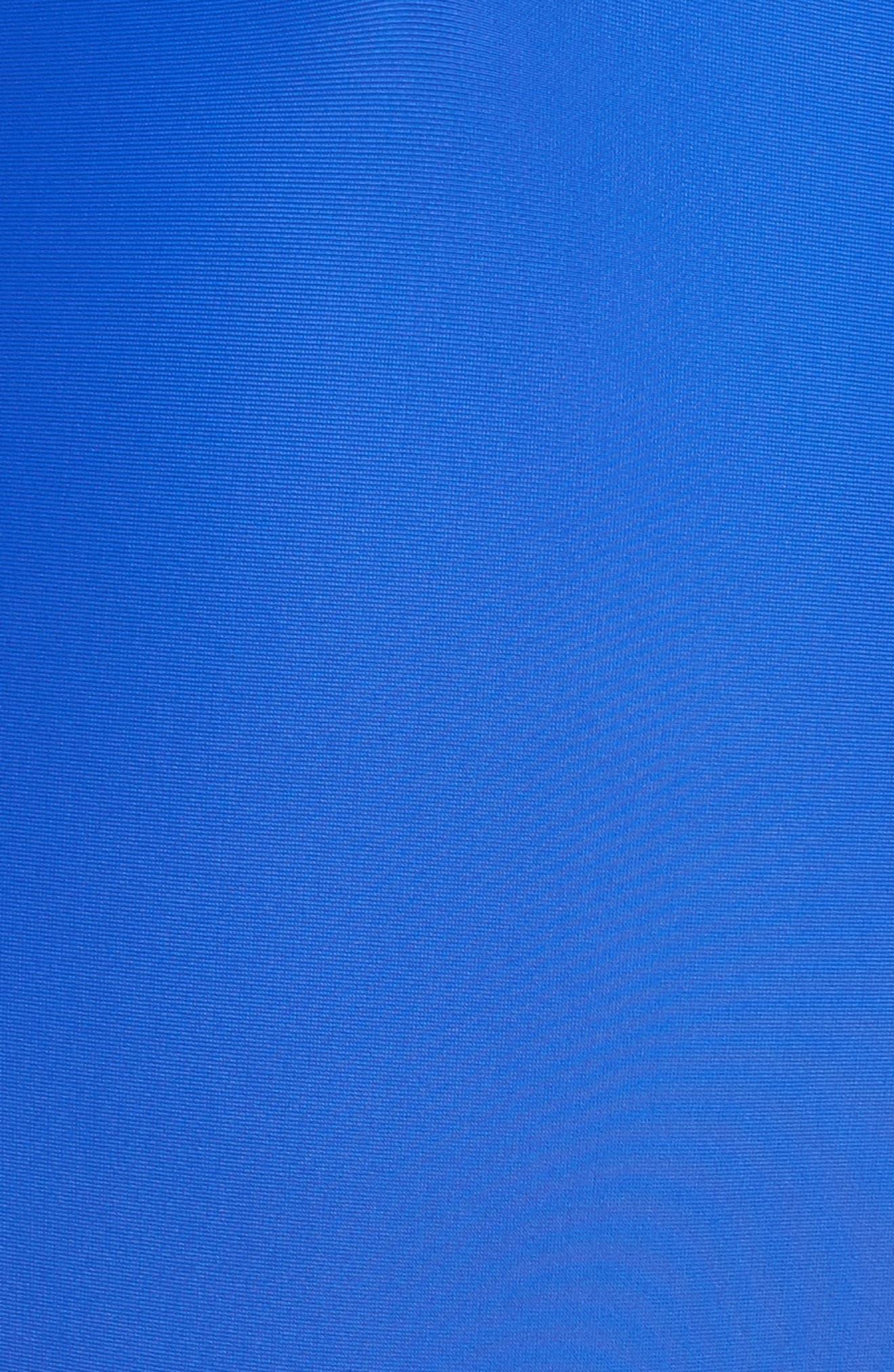 Launch One-Piece Swimsuit,                             Alternate thumbnail 5, color,                             BLUE/ BLACK