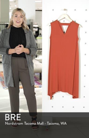 Cutout Jersey Shift Dress, sales video thumbnail