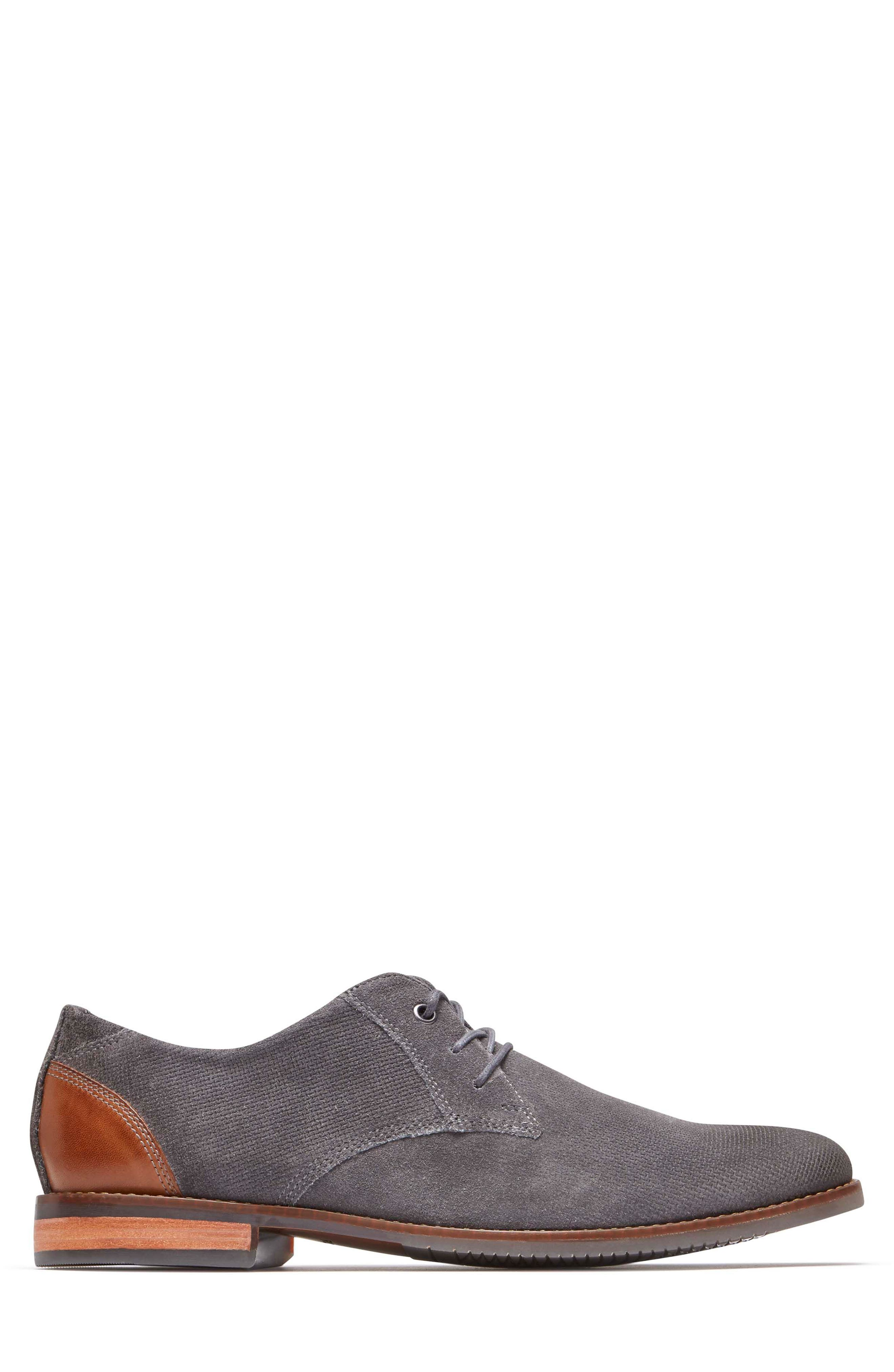 Style Purpose Plain Toe Derby,                             Alternate thumbnail 3, color,                             020