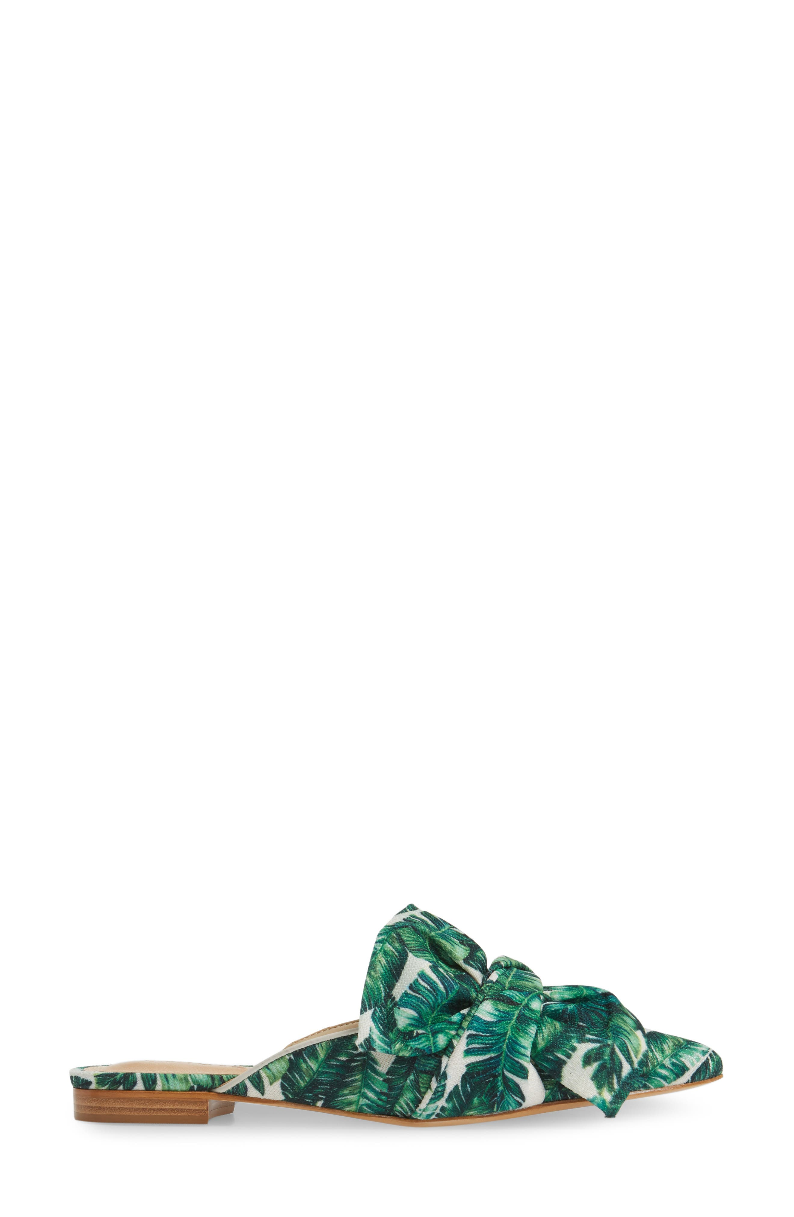 SCHUTZ,                             D'Ana Knotted Loafer Mule,                             Alternate thumbnail 3, color,                             100