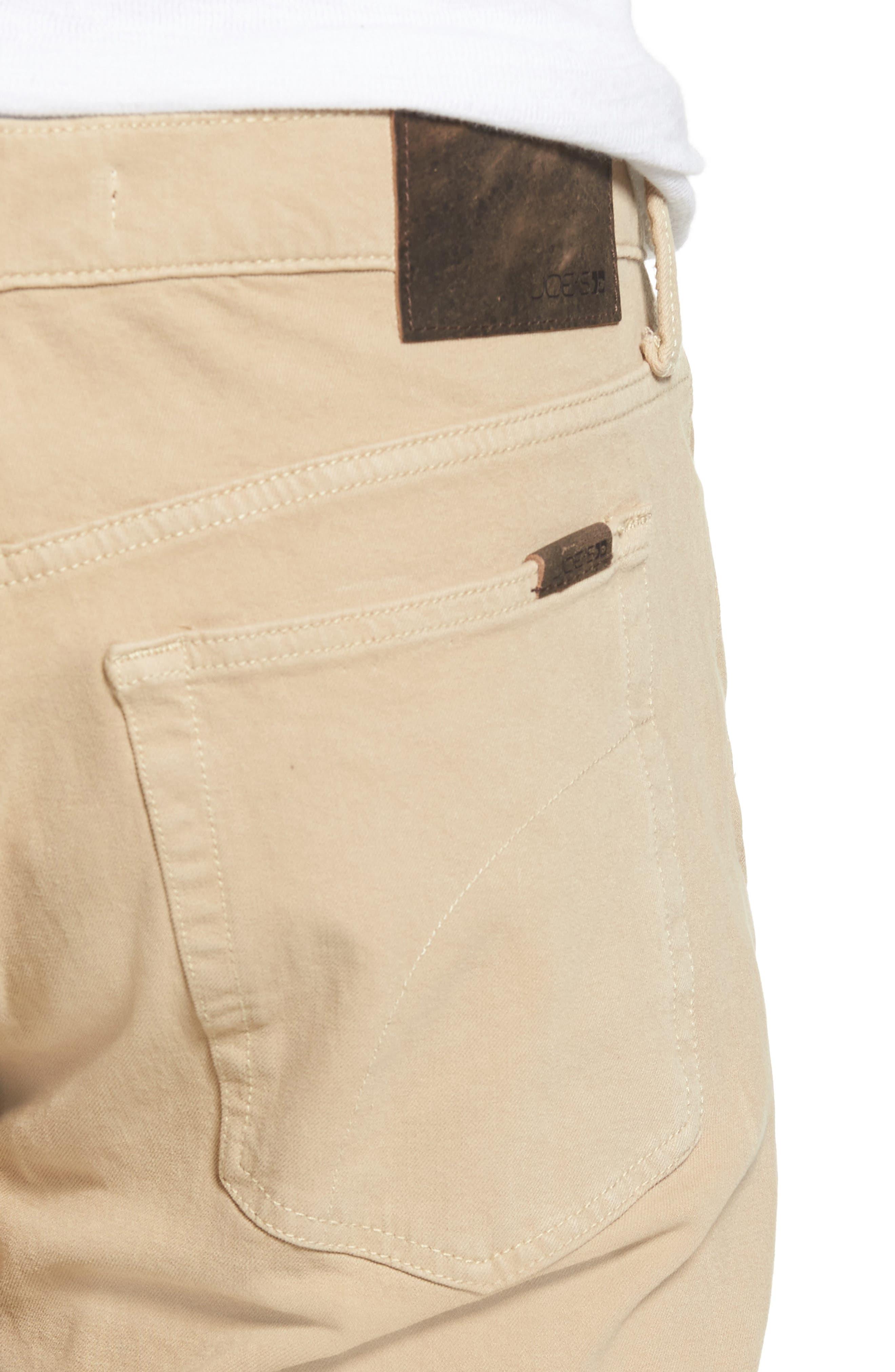 JOE'S,                             Kinetic Slim Fit Jeans,                             Alternate thumbnail 4, color,                             SAND