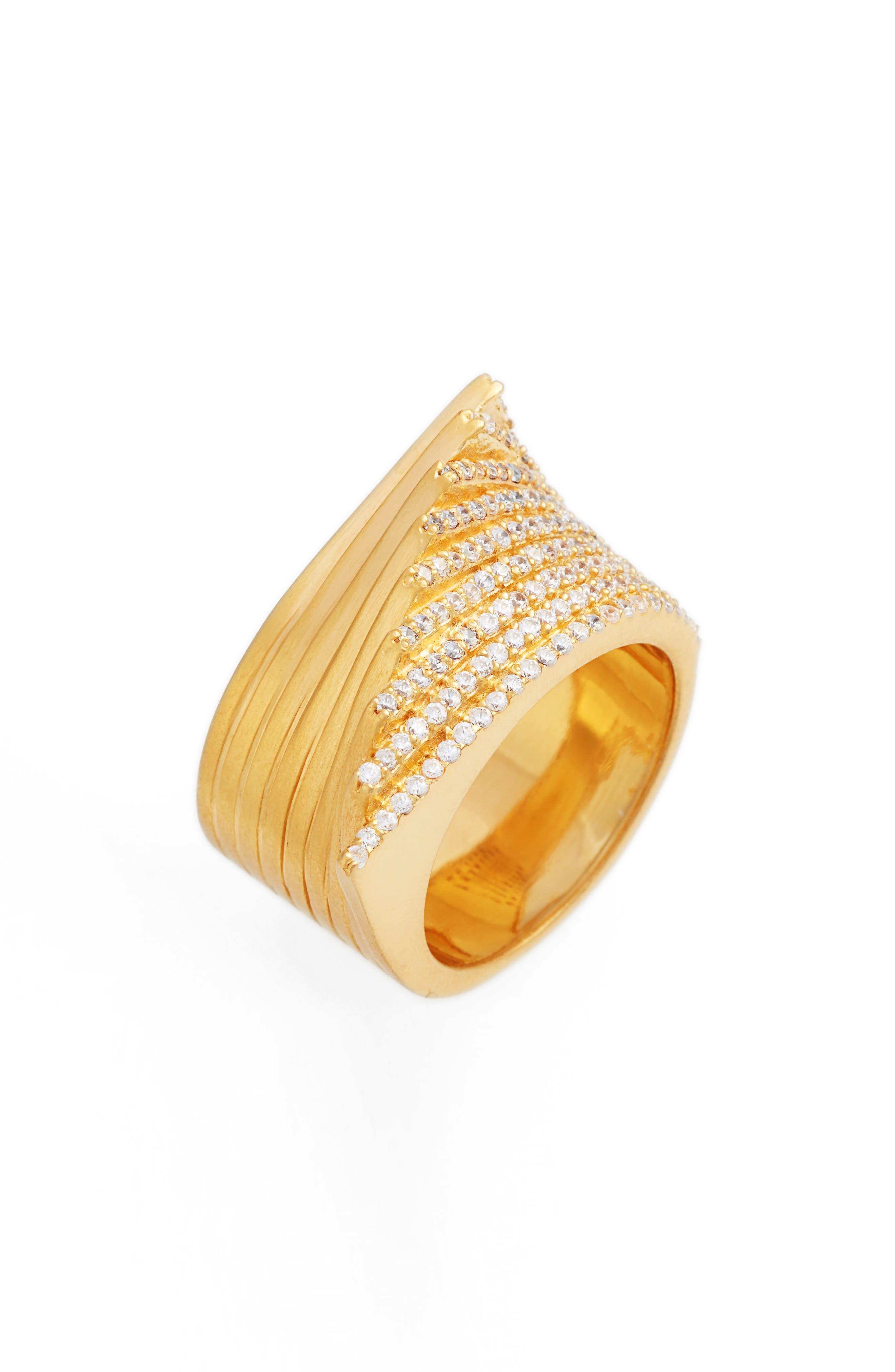 Pavé Topaz Ring,                         Main,                         color, 710