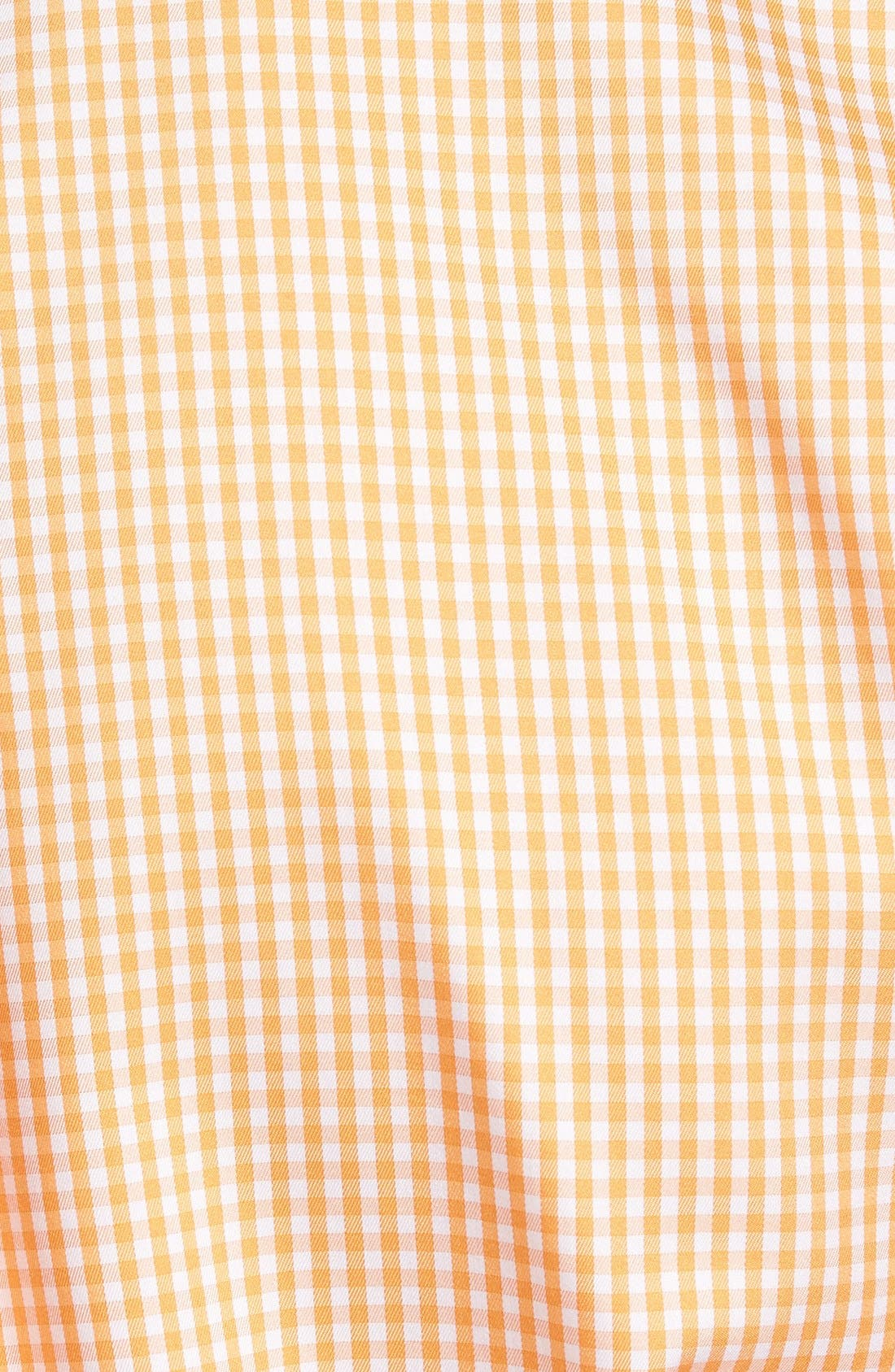Crown Soft Gingham Regular Fit Sport Shirt,                             Alternate thumbnail 14, color,