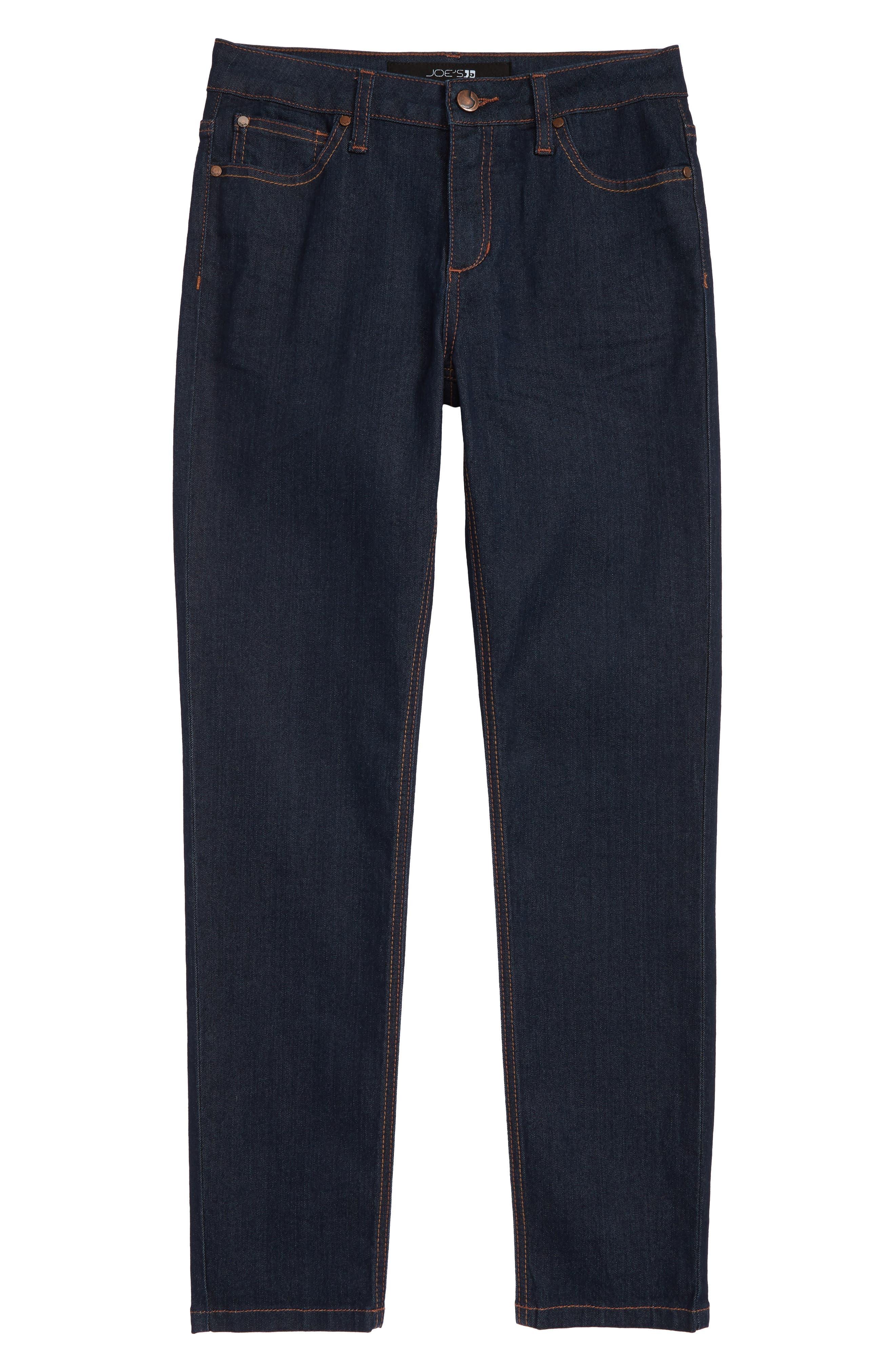 Brixton Stretch Jeans,                             Alternate thumbnail 4, color,                             DRESDEN BLUE