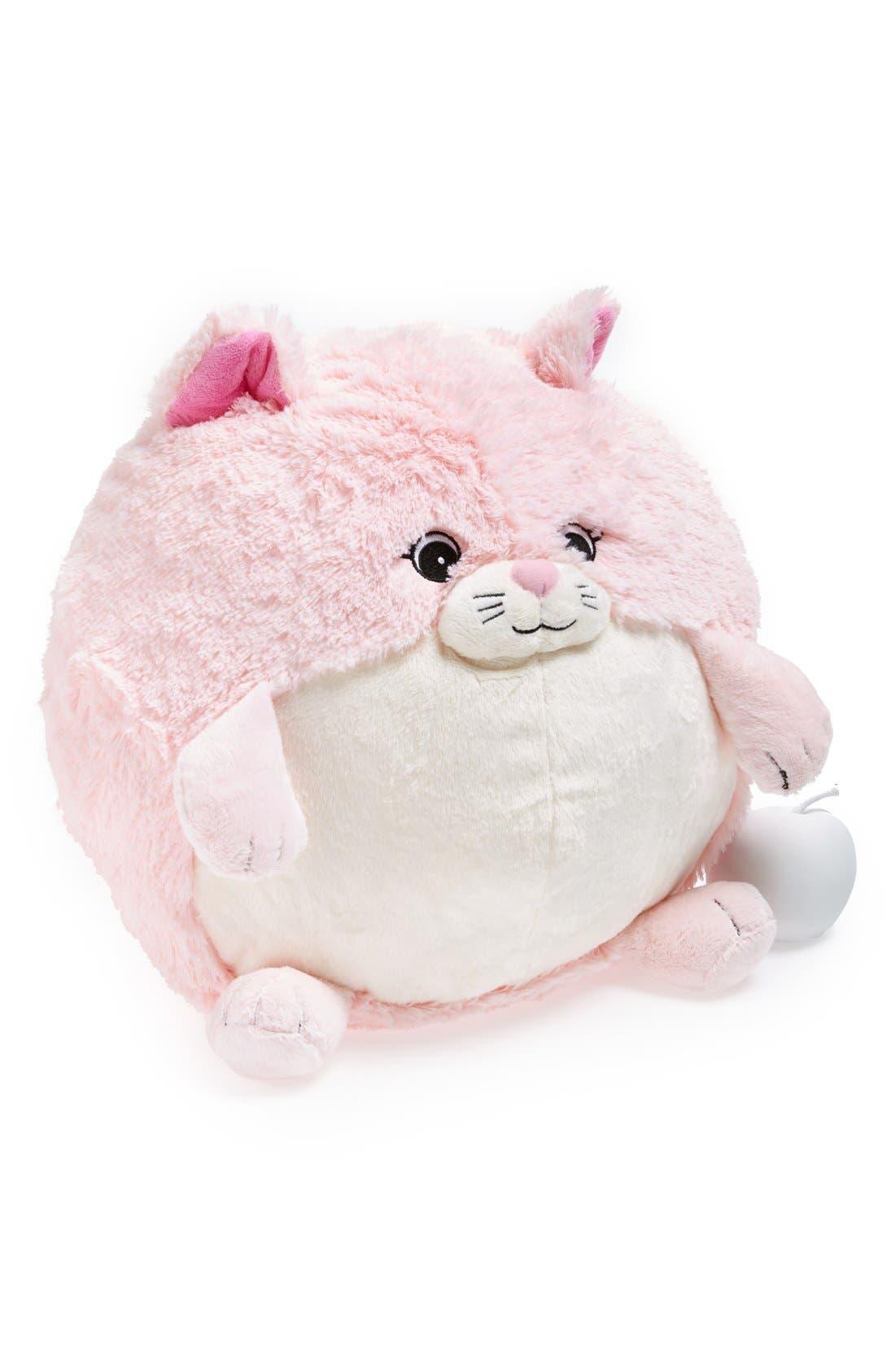 'Pink Kitty' Stuffed Animal, Main, color, 650