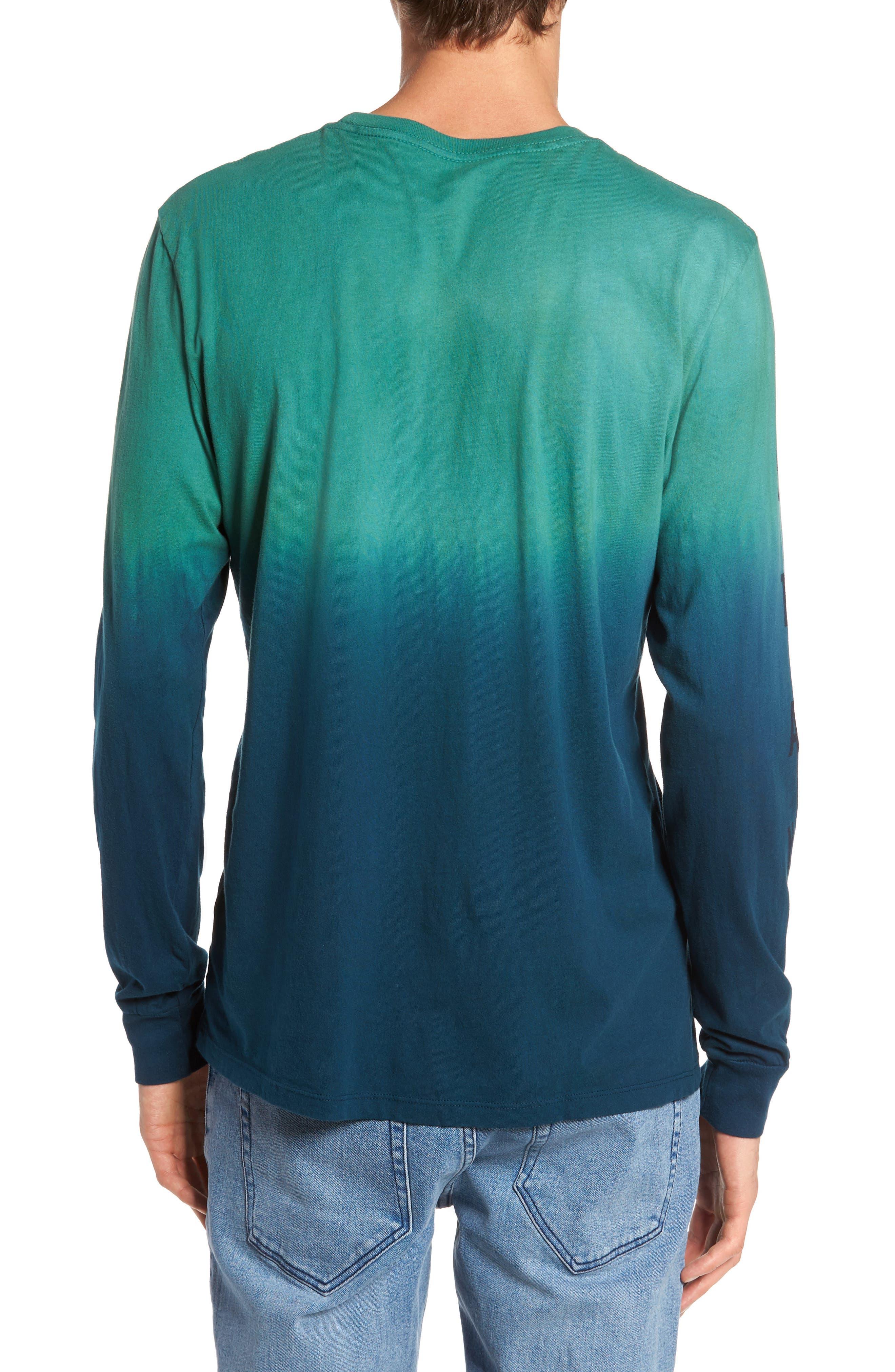 Up a Creek T-Shirt,                             Alternate thumbnail 2, color,                             ALGAE/ NAVY