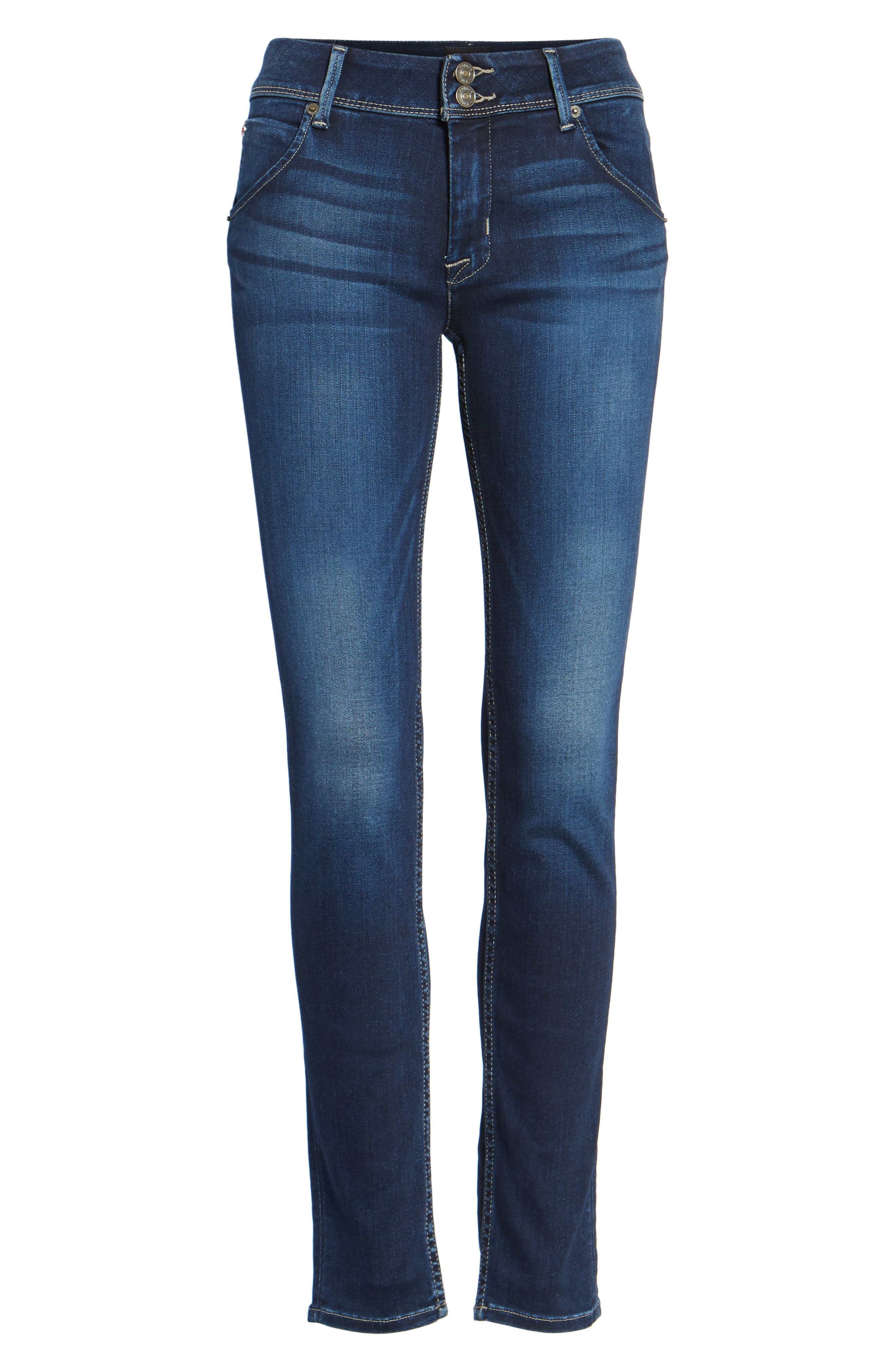 HUDSON JEANS 'Elysian - Collin' Mid Rise Skinny Jeans, Main, color, 402