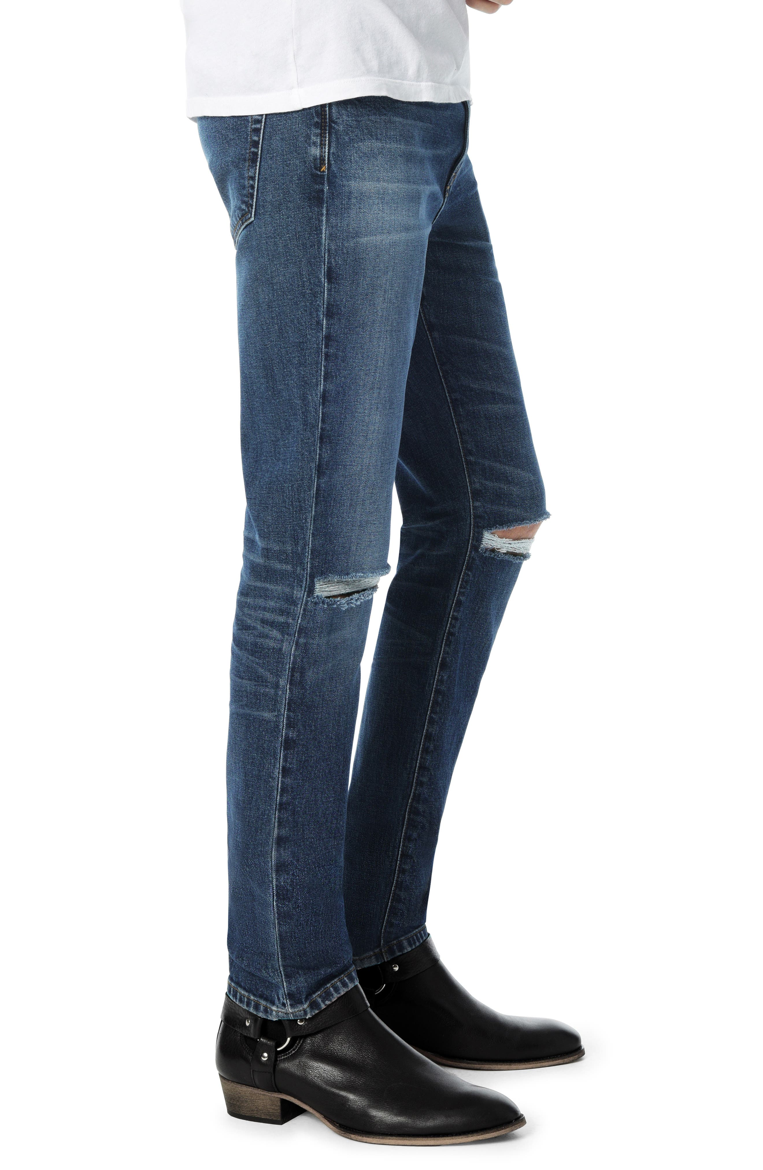Slim Fit Jeans,                             Alternate thumbnail 3, color,                             BUSTER