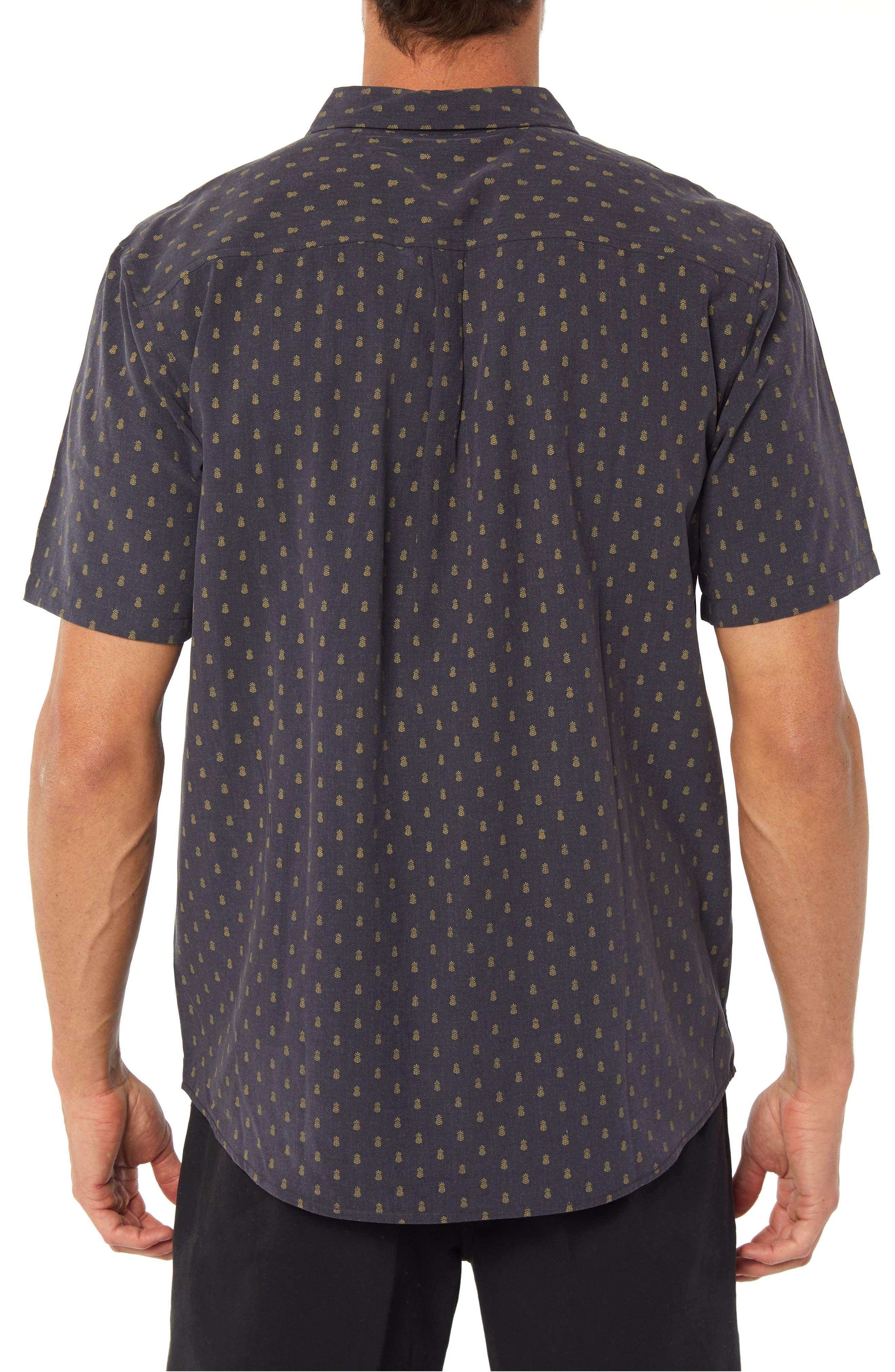 Home Grown Pineapple Sport Shirt,                             Alternate thumbnail 2, color,                             268