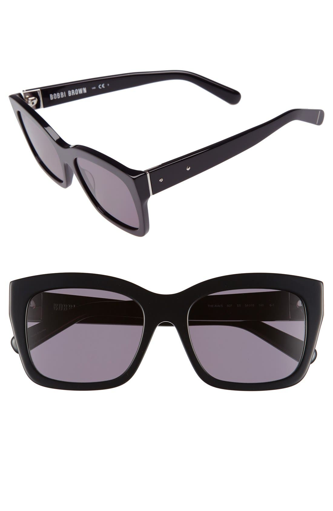 'Ava' 54mm Sunglasses,                             Main thumbnail 2, color,