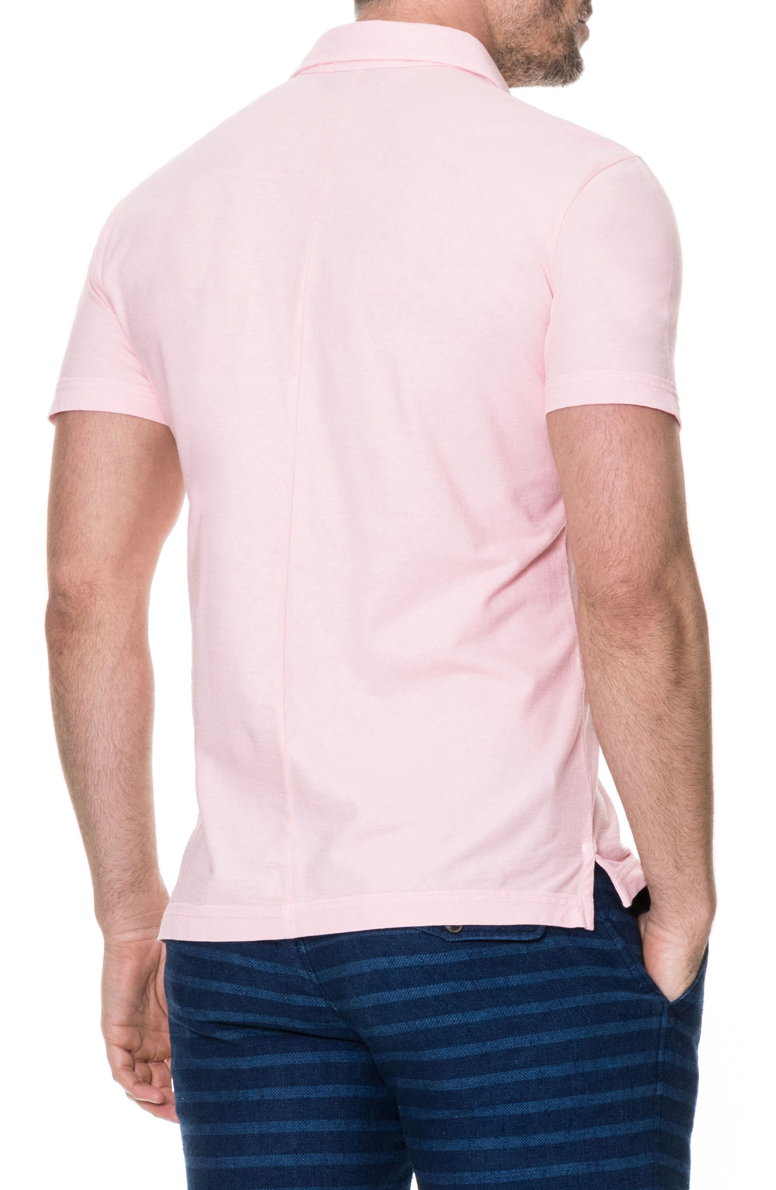 Wilsons Bay Sports Fit Polo,                             Alternate thumbnail 2, color,                             ROSE