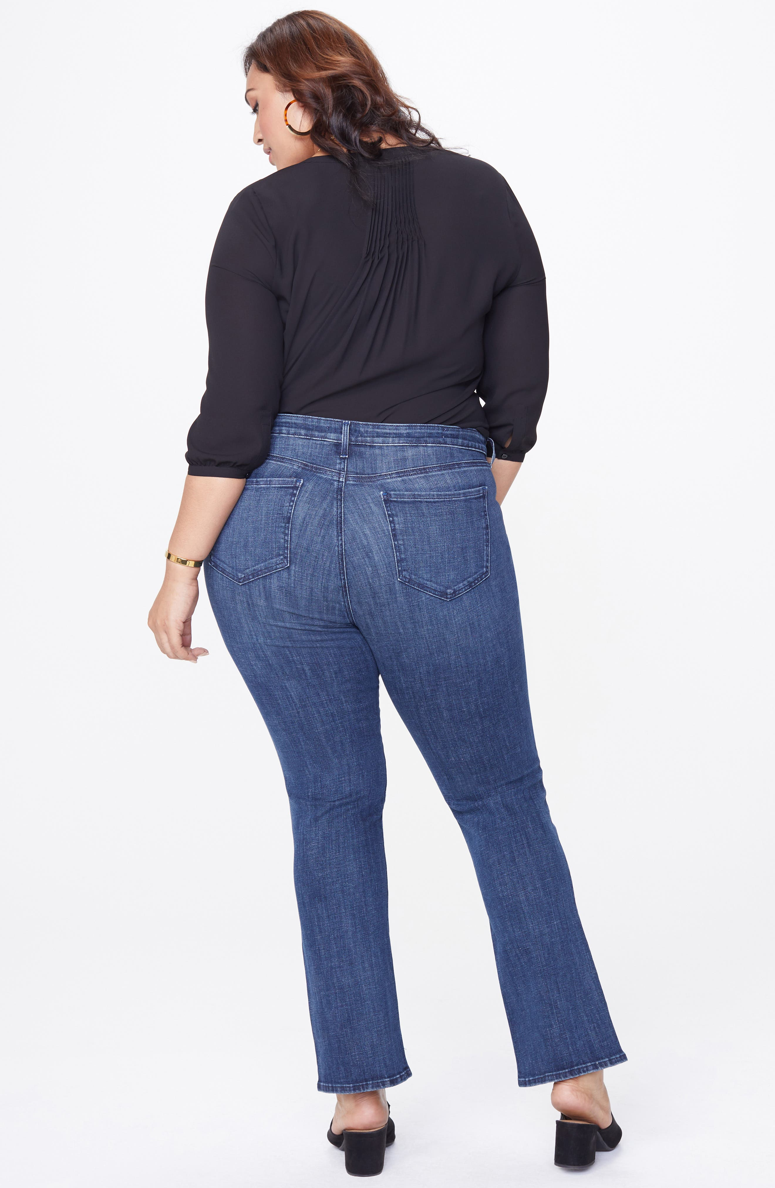 Barbara Bootcut Jeans,                             Alternate thumbnail 4, color,                             LUPINE