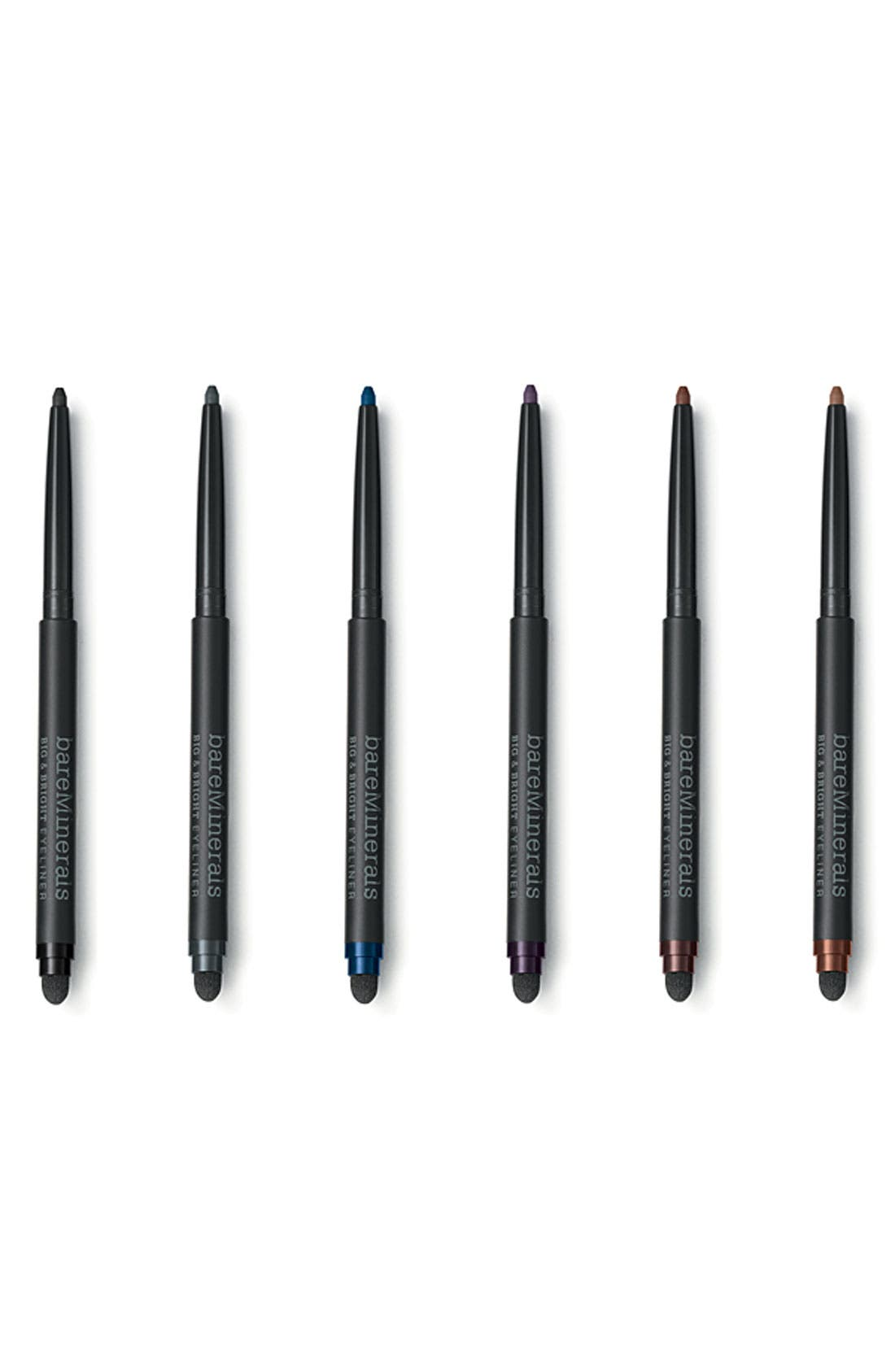BAREMINERALS<SUP>®</SUP>,                             Bare Escentuals<sup>®</sup> bareMinerals<sup>®</sup> 'Big & Bright' Eyeliner Pencil,                             Alternate thumbnail 2, color,                             001