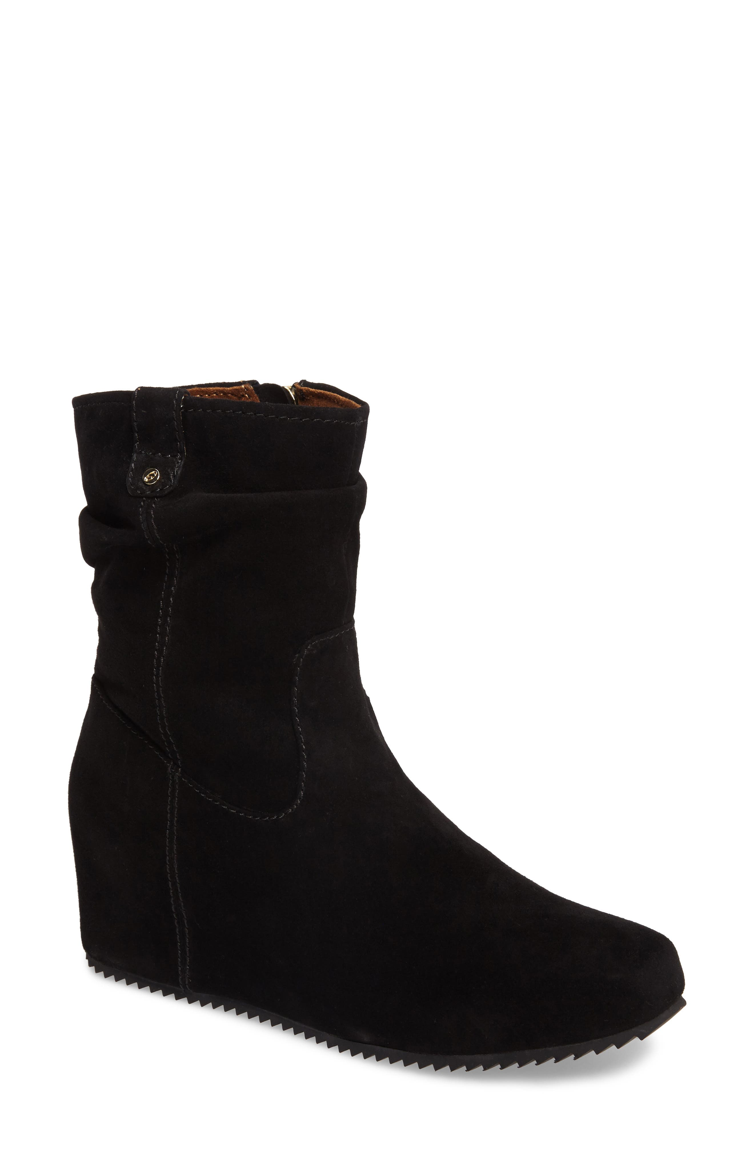 Jade Wedge Bootie,                             Main thumbnail 1, color,                             001