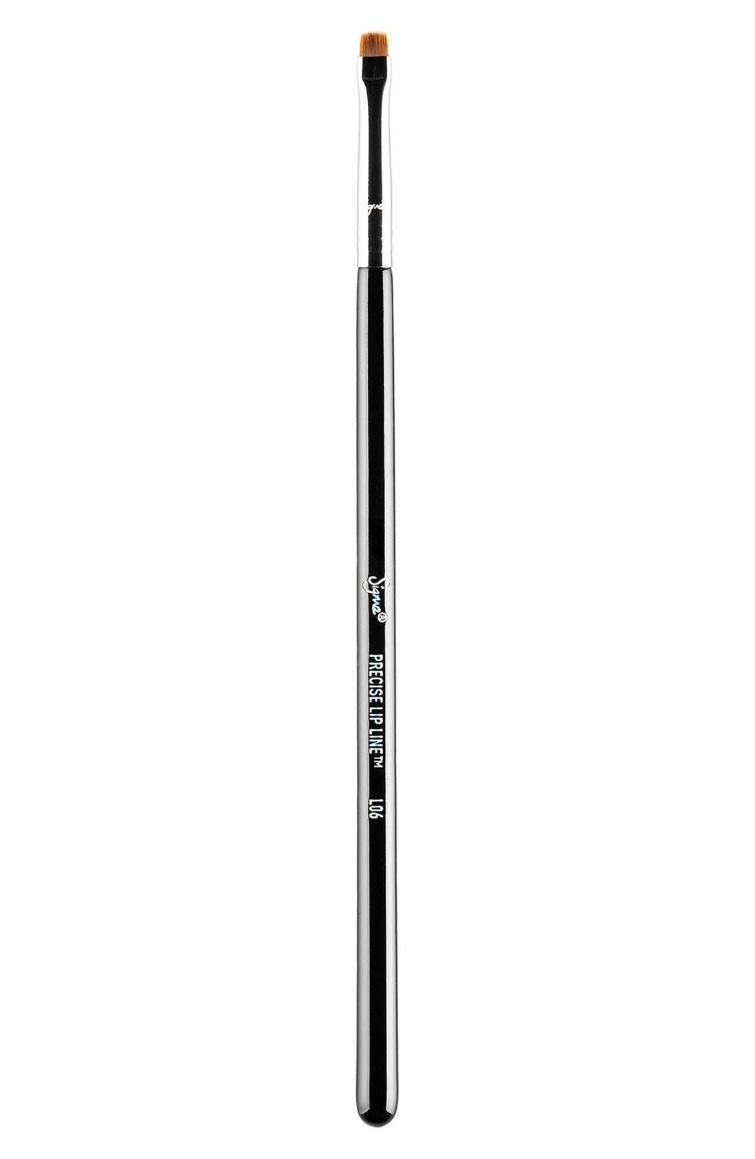 L06 Precise Lip Line Brush,                             Main thumbnail 1, color,                             NO COLOR