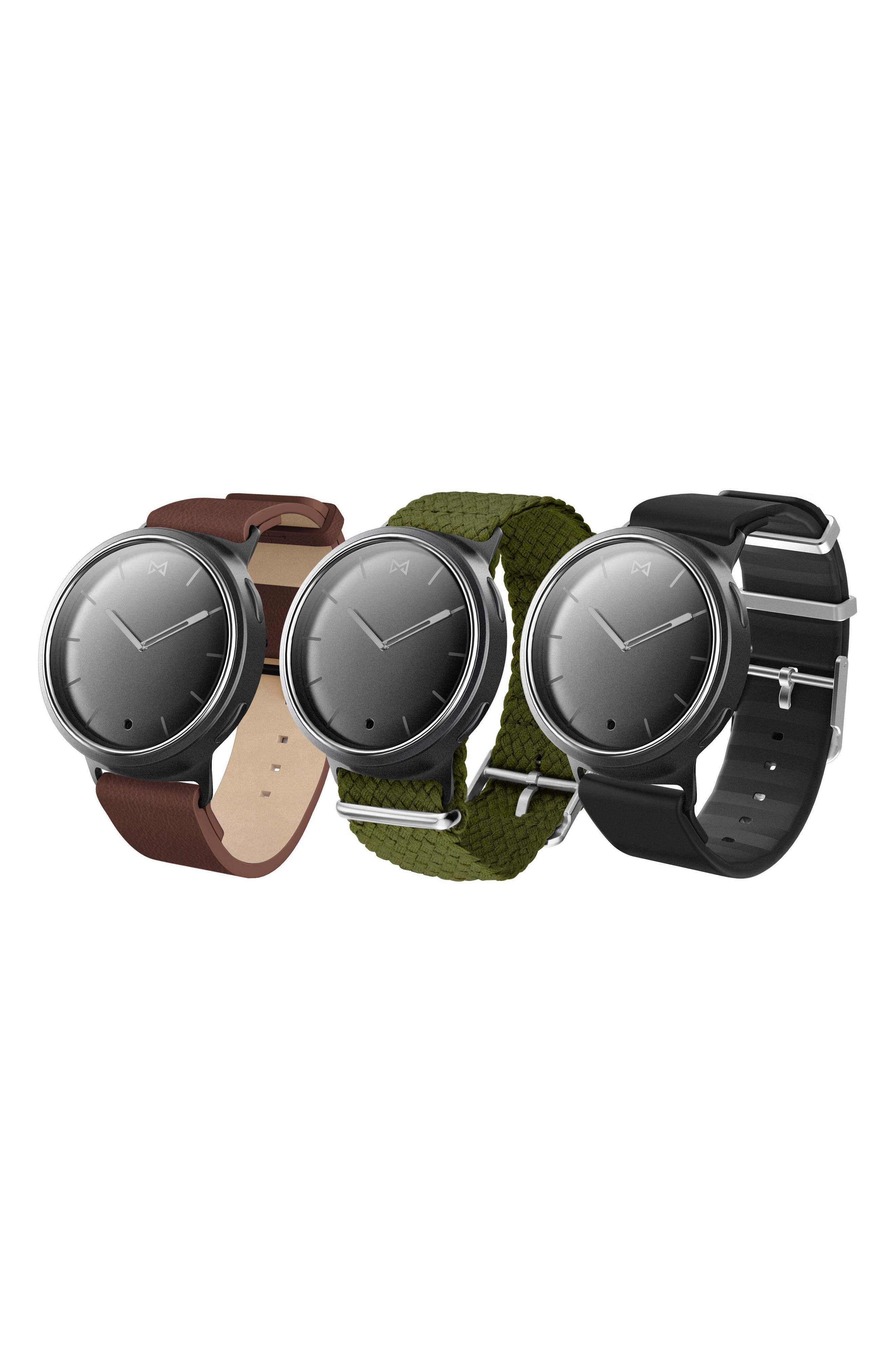 Phase Three-Pack 20mm Watch Straps,                             Alternate thumbnail 2, color,                             001