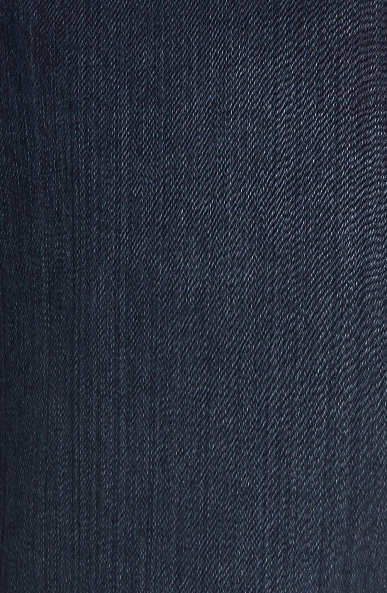 Transcend - Normandie Straight Fit Jeans,                             Alternate thumbnail 5, color,