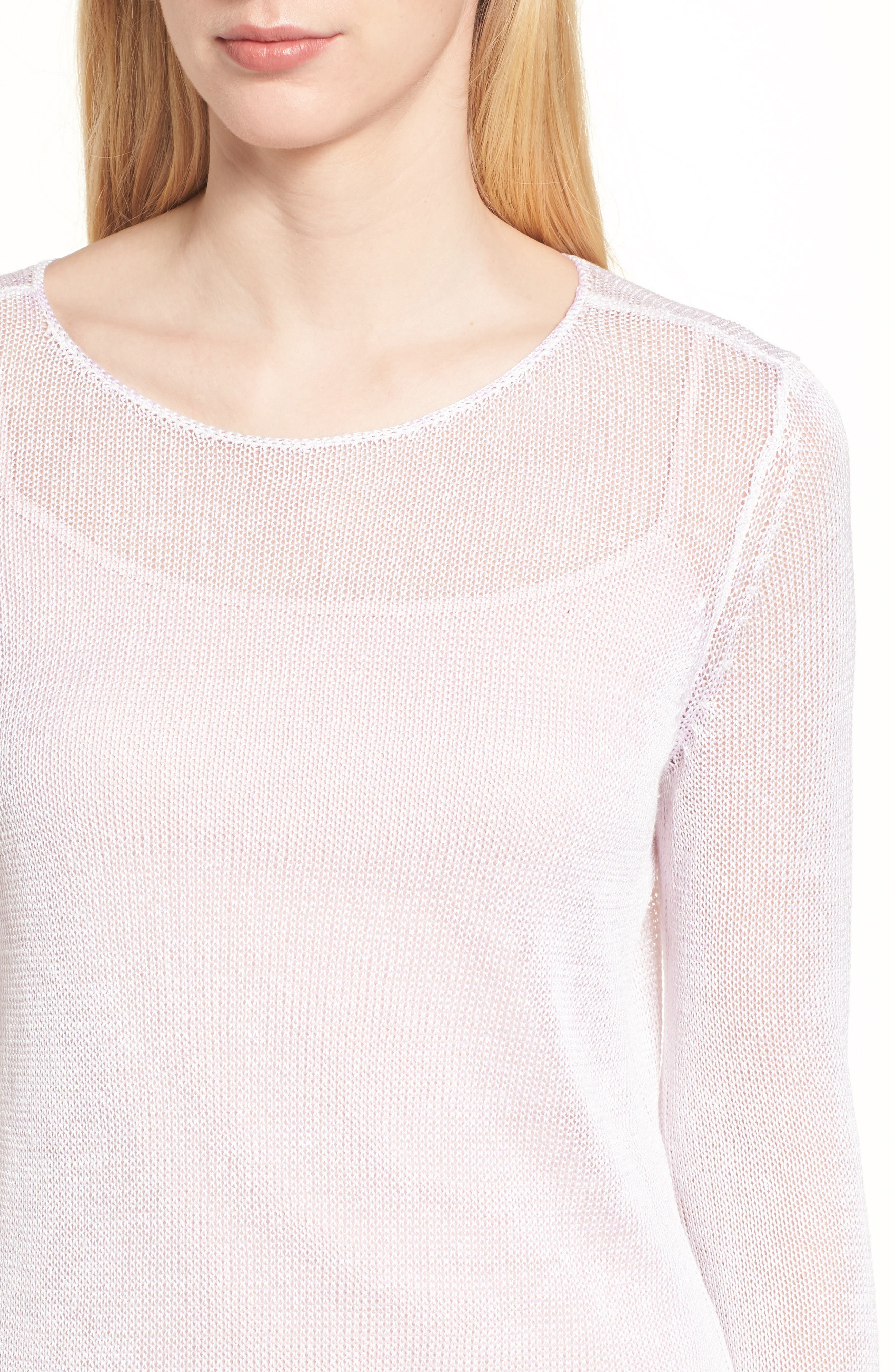 NIC + ZOE Poolside Linen Blend Sweater,                             Alternate thumbnail 16, color,