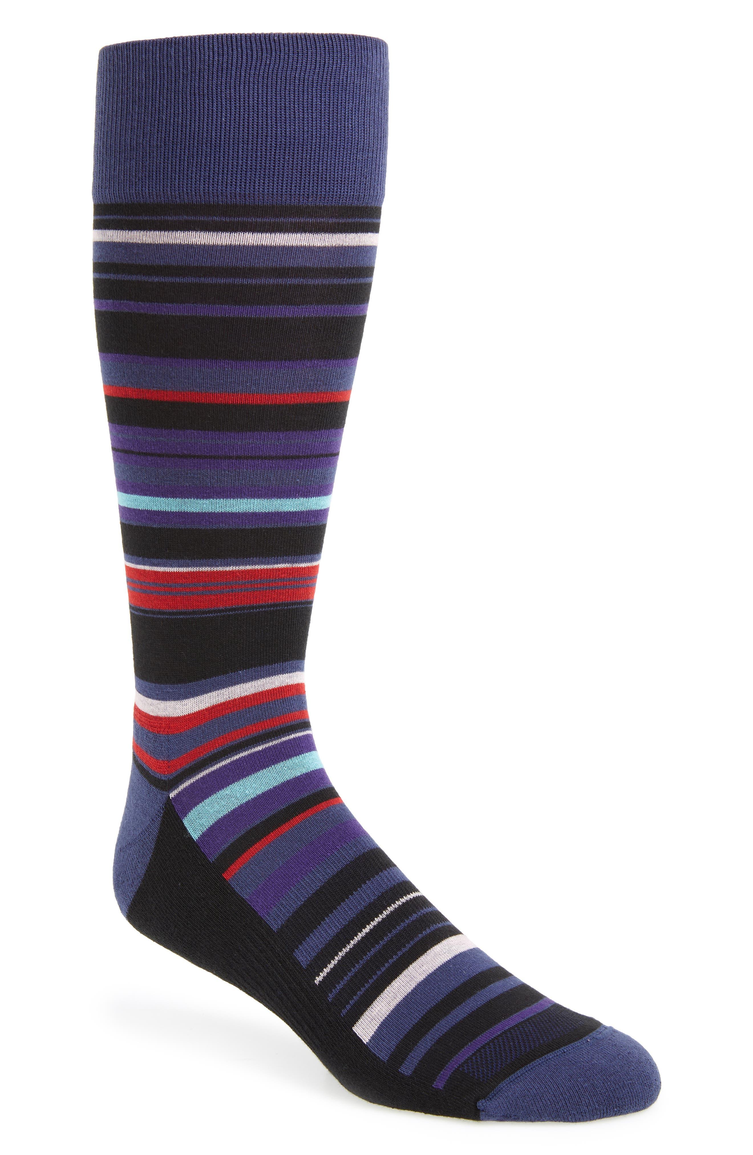 Stripe Socks,                         Main,                         color, 501