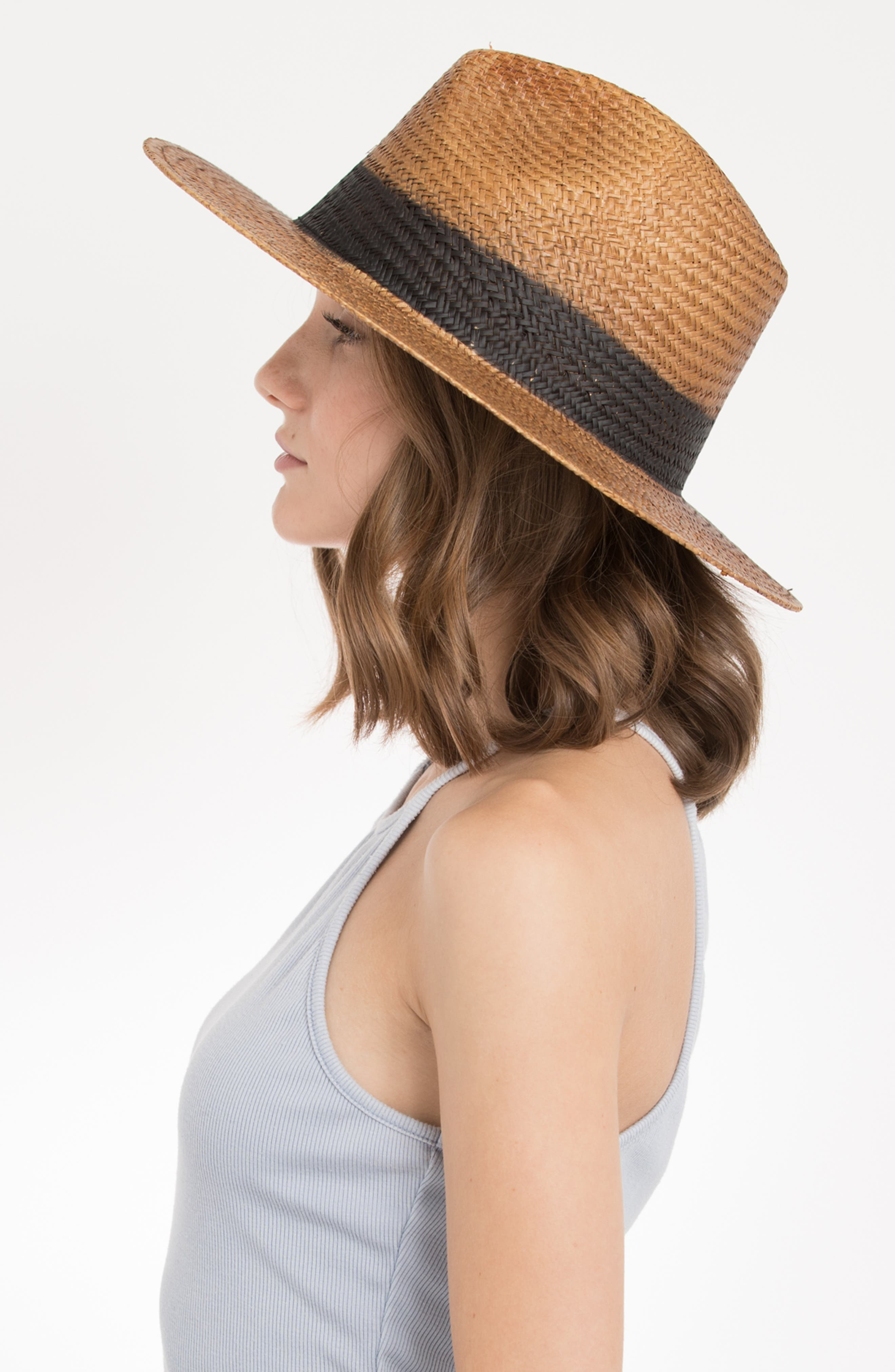 Cayenne Straw Resort Hat,                             Alternate thumbnail 3, color,                             230