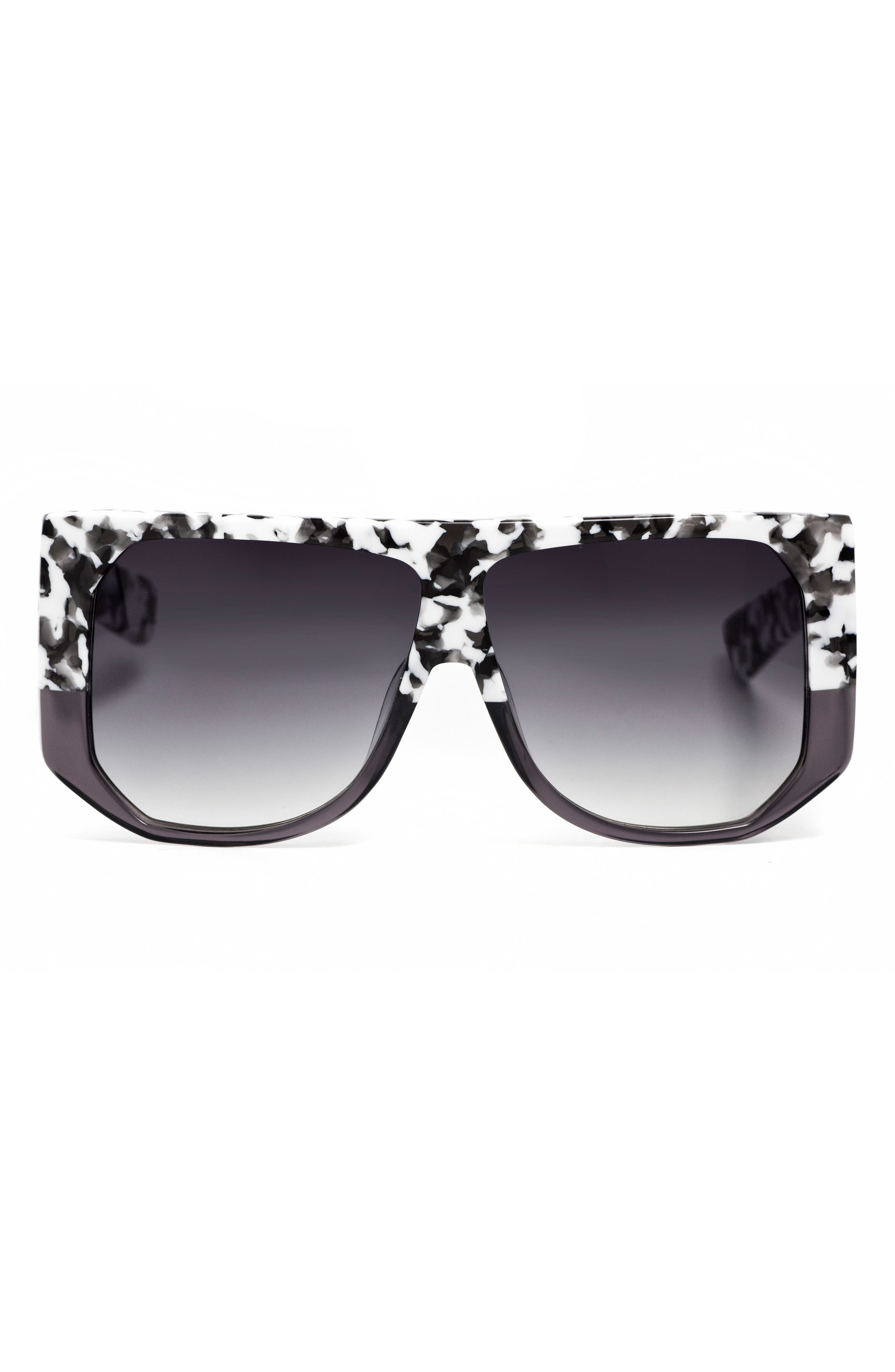 Frequent Flyer 58mm Sunglasses,                             Alternate thumbnail 3, color,                             WHITE CAMO