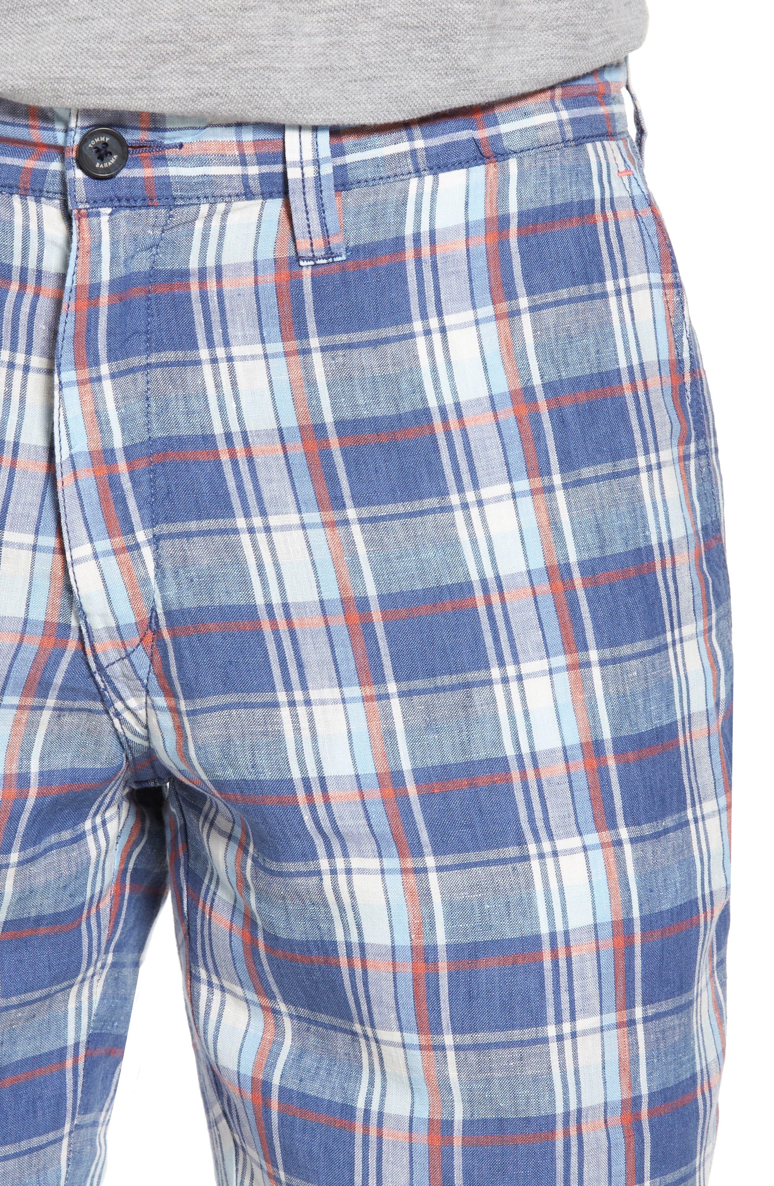 Plaid De Leon Reversible Shorts,                             Alternate thumbnail 10, color,