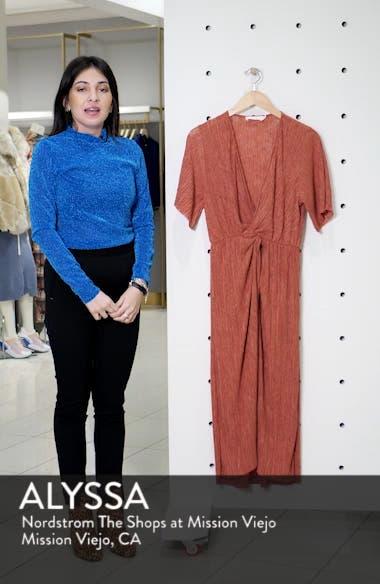 Dolman Plissé Midi Dress, sales video thumbnail