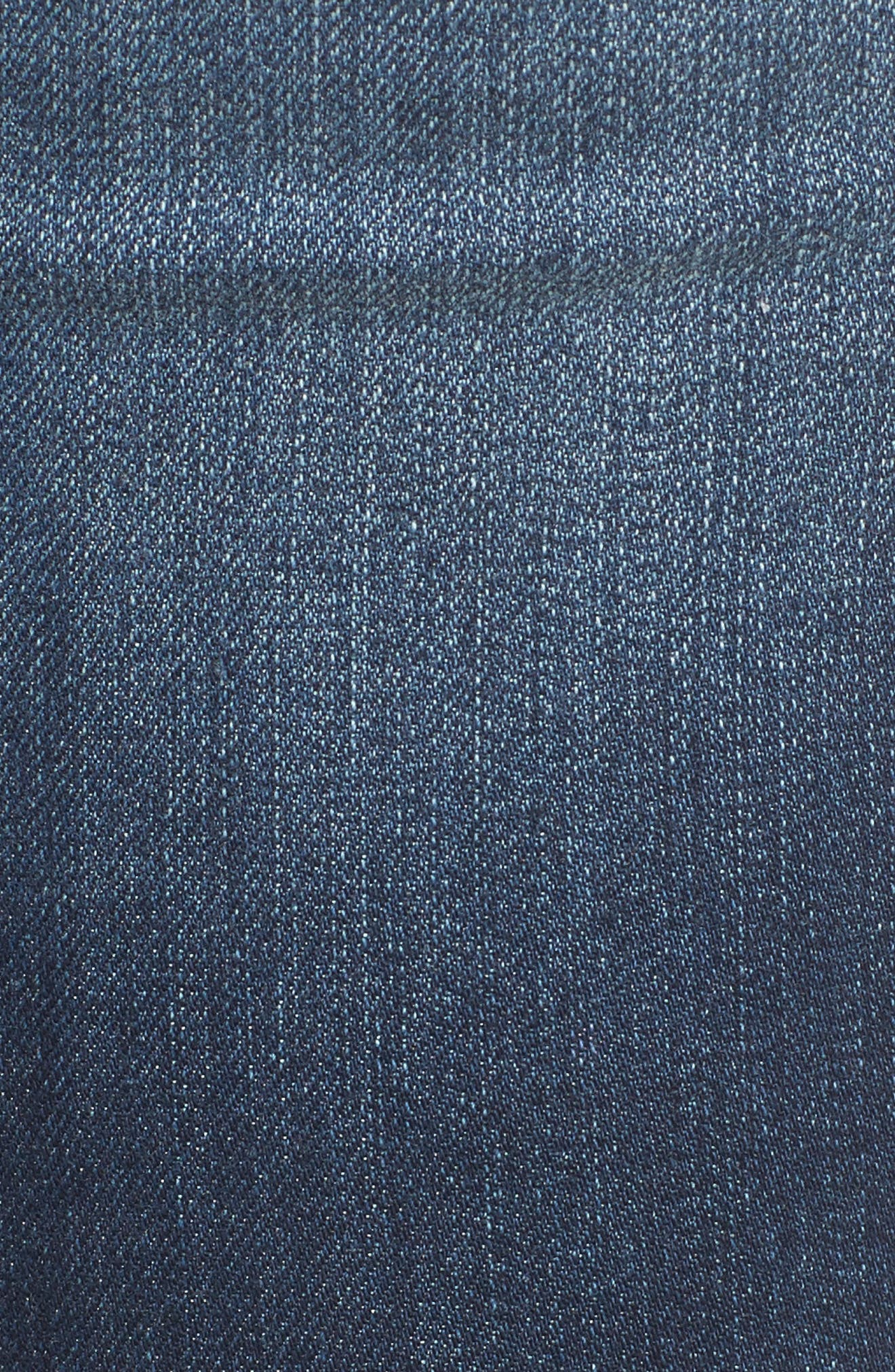Step Hem Skinny Jeans,                             Alternate thumbnail 6, color,