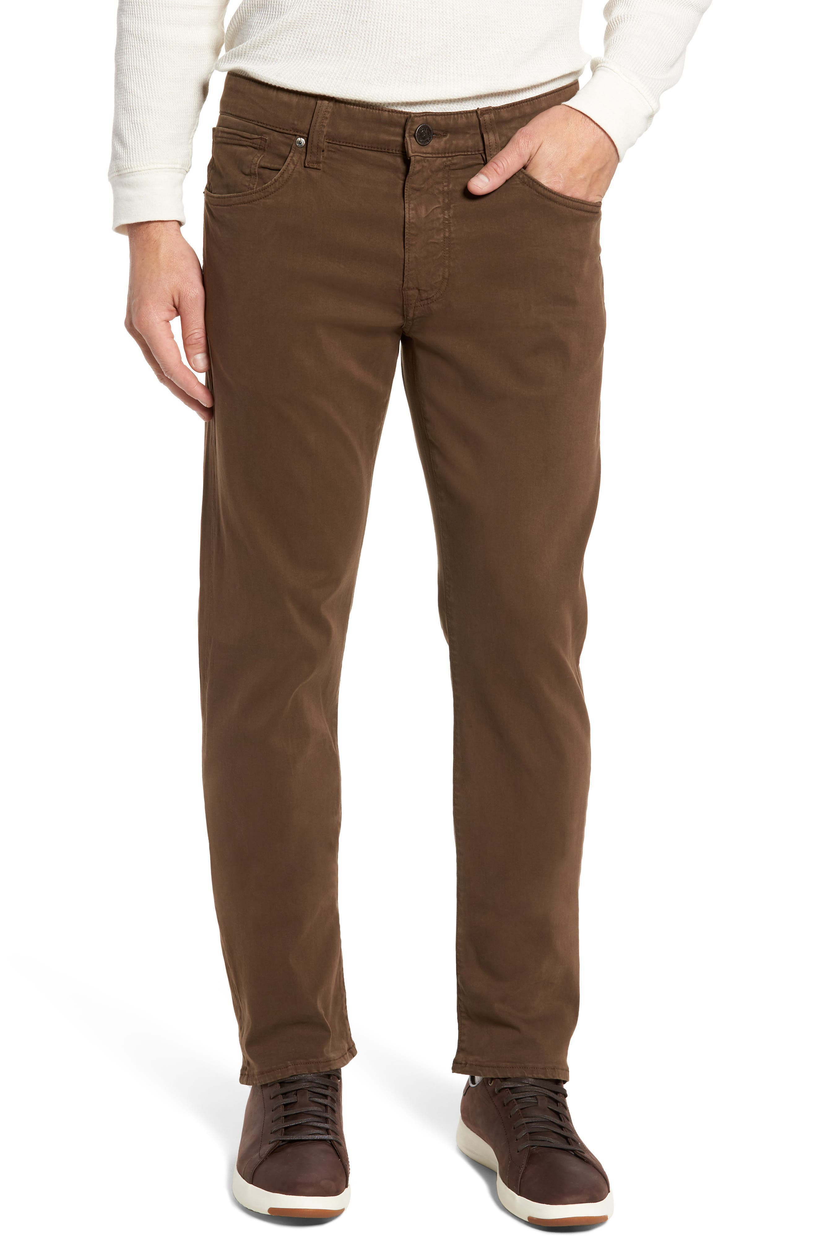 Courage Straight Leg Twill Pants,                         Main,                         color, 200