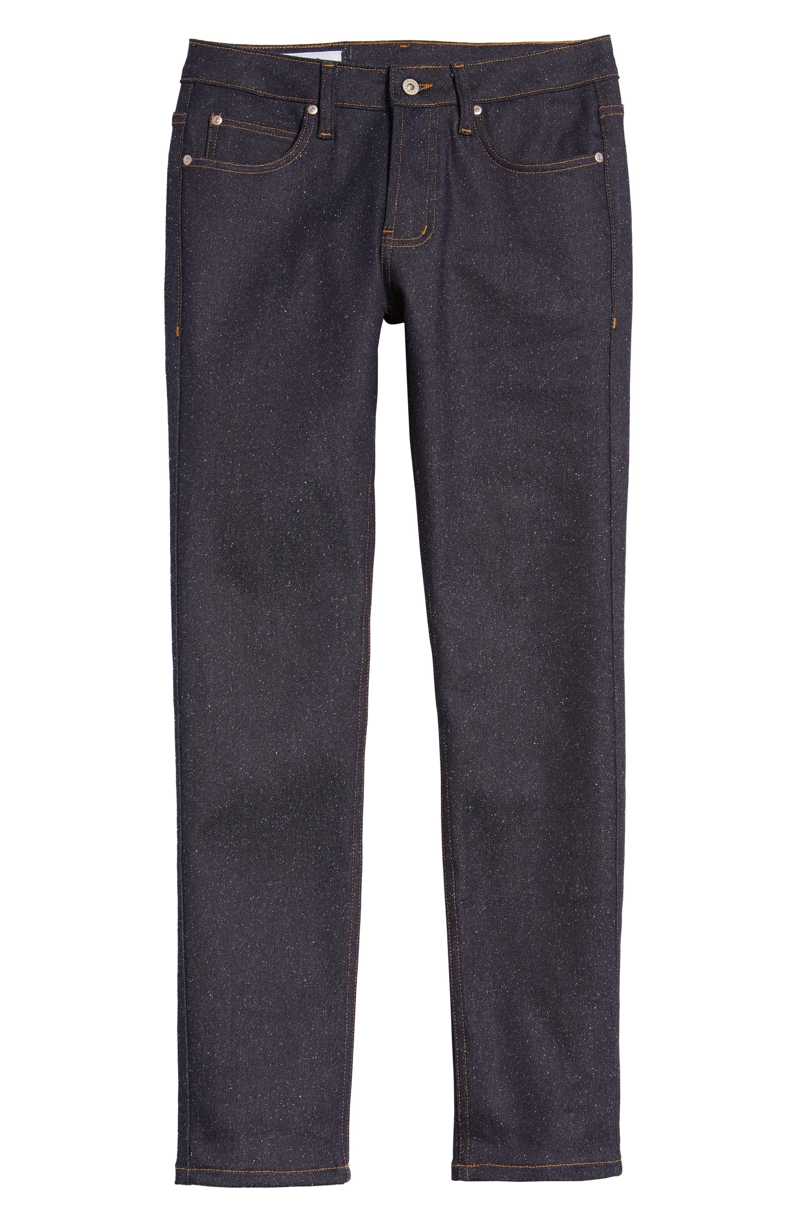 Super Skinny Guy Skinny Fit Jeans,                             Alternate thumbnail 6, color,                             401