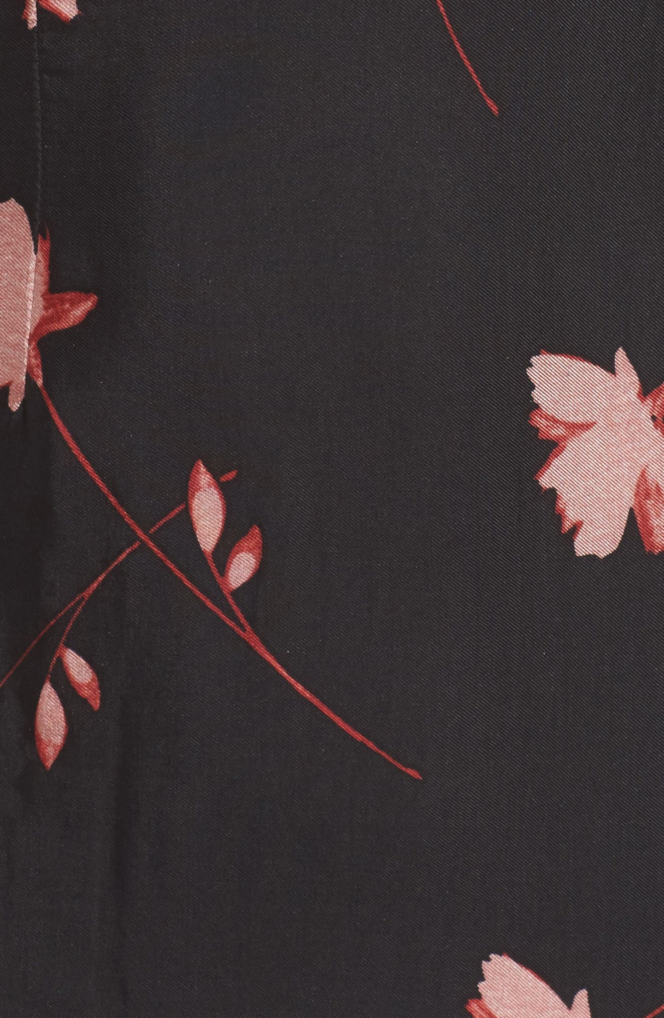 Lucia Frill One-Shoulder Dress,                             Alternate thumbnail 5, color,                             017