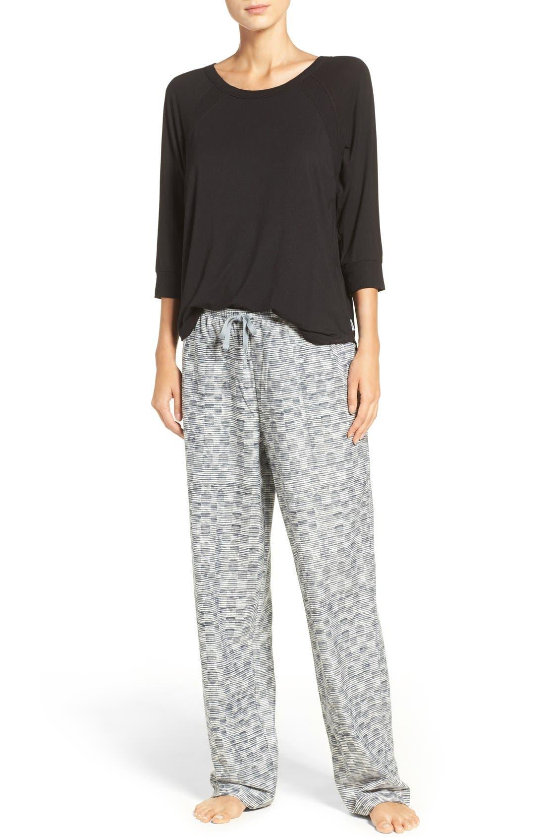 Fleece Pajama Pants,                             Alternate thumbnail 6, color,                             031