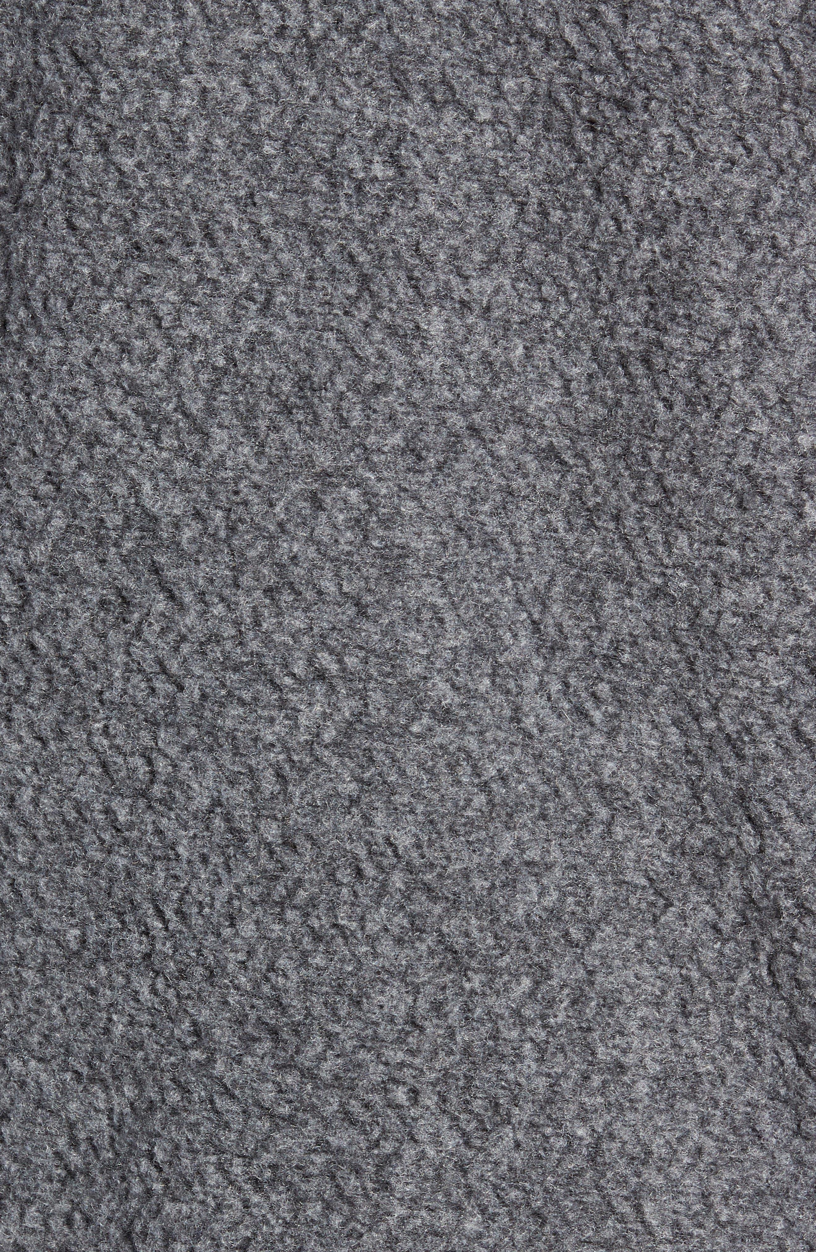 Woolyester Fleece Jacket,                             Alternate thumbnail 6, color,                             FORGE GREY