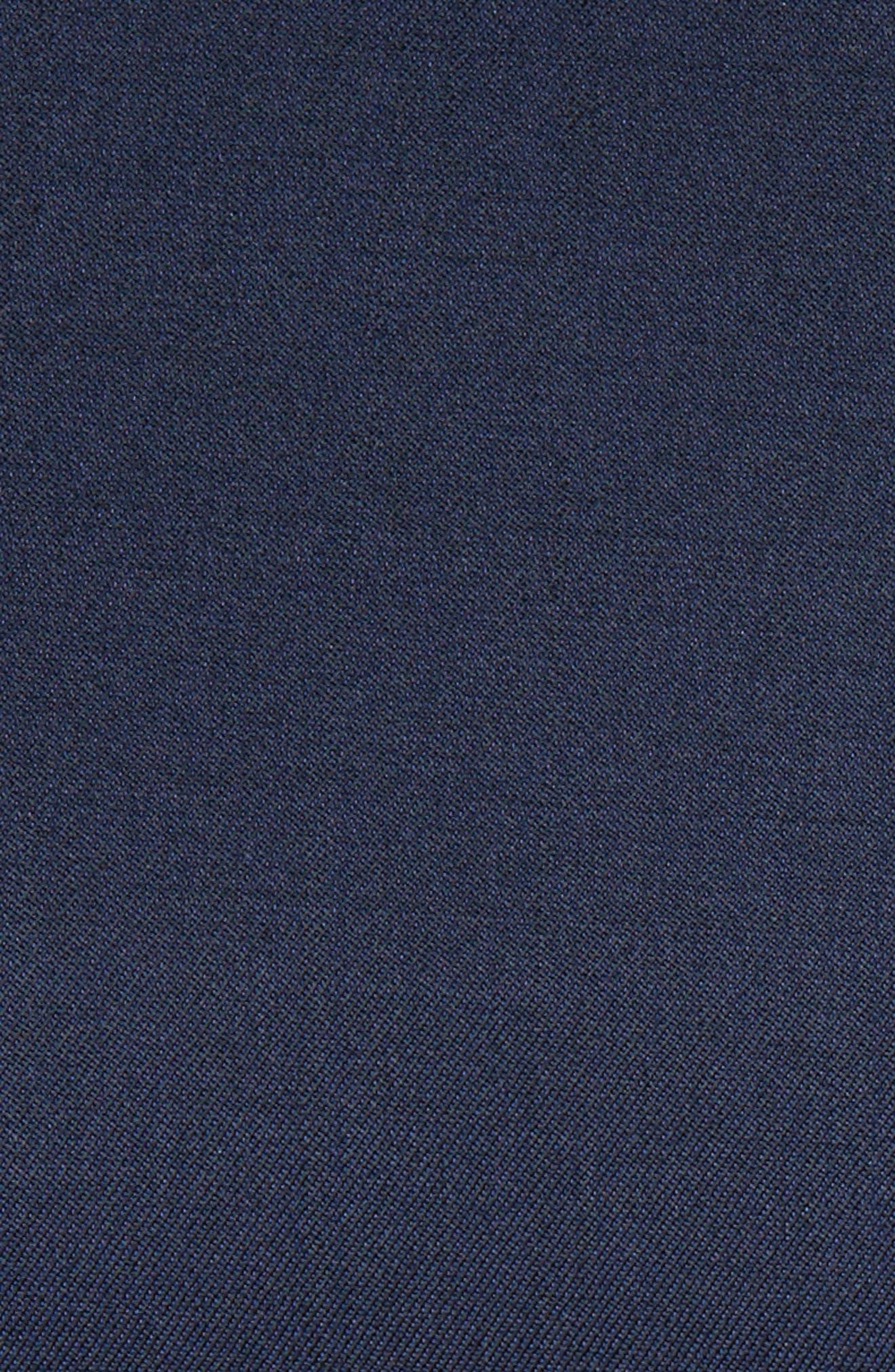 'Josh' Trim Fit Navy Shawl Lapel Tuxedo,                             Alternate thumbnail 4, color,                             NAVY BLUE