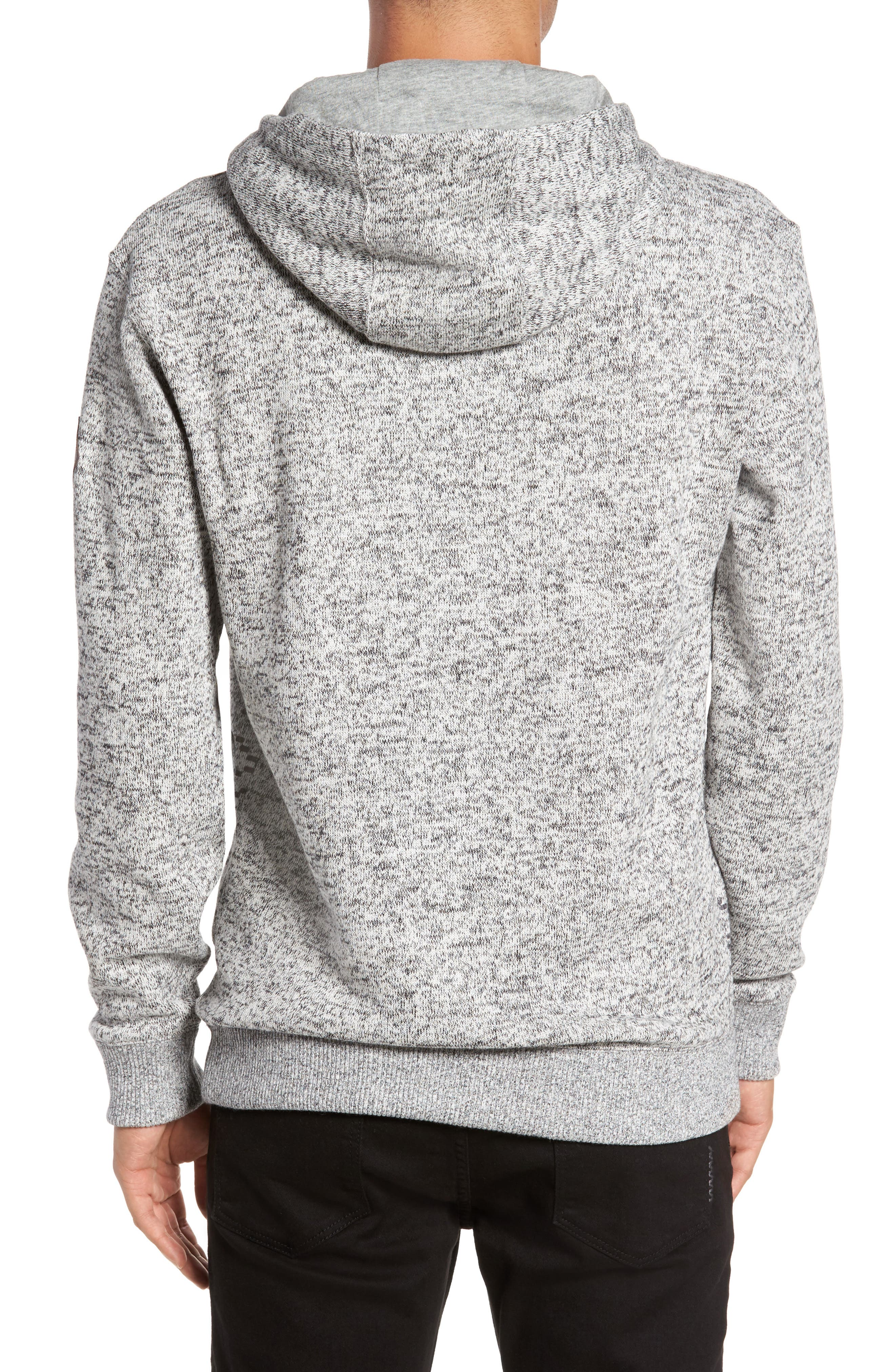 Brookstone Geo Print Hoodie,                             Alternate thumbnail 2, color,                             020