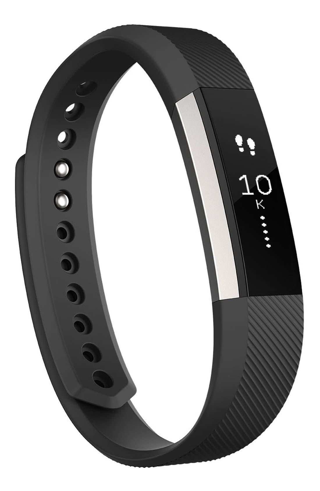 'Alta' Wireless Fitness Tracker,                             Main thumbnail 1, color,                             BLACK