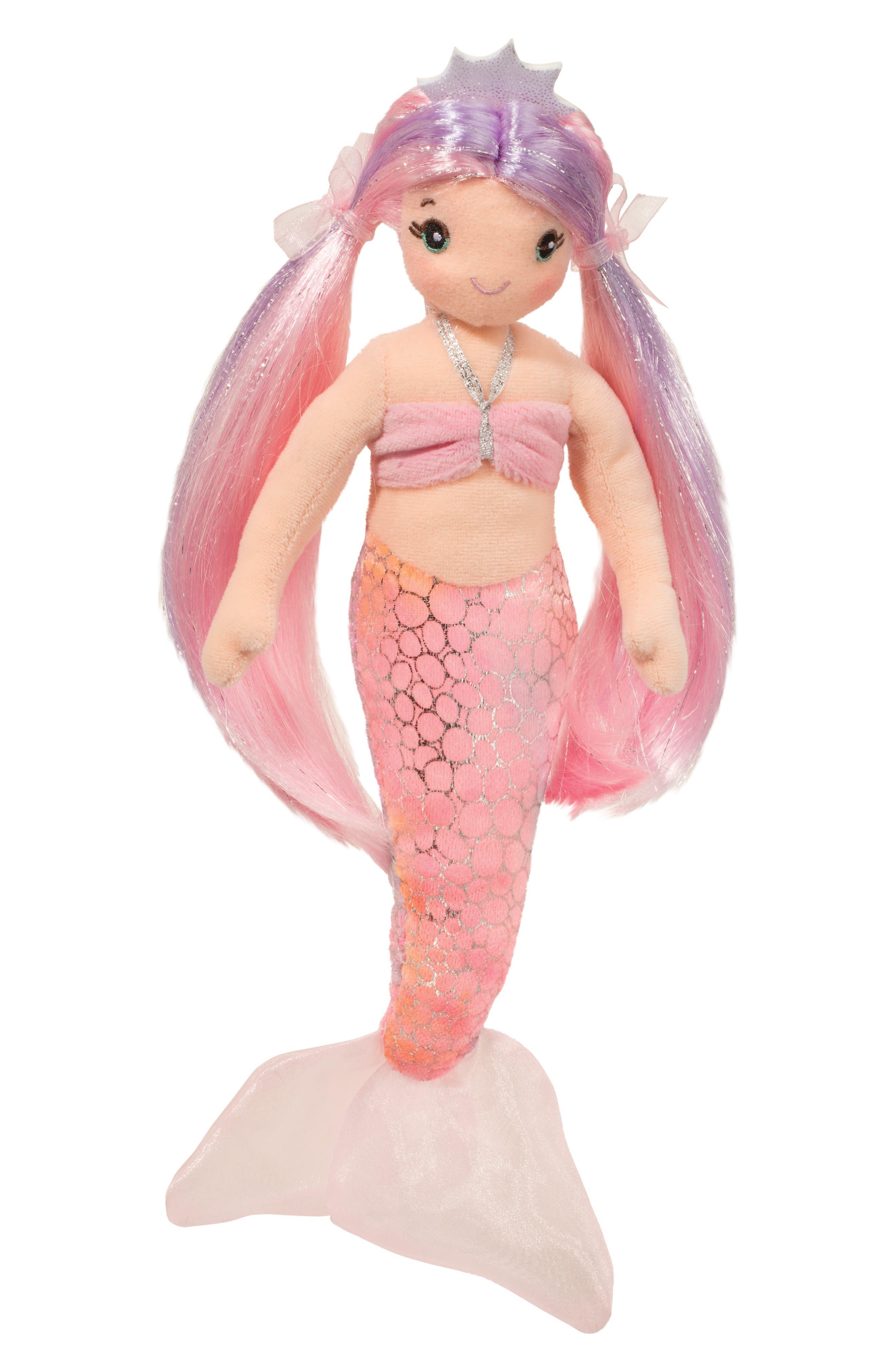 Serena Pink Mermaid Doll,                             Main thumbnail 1, color,                             650