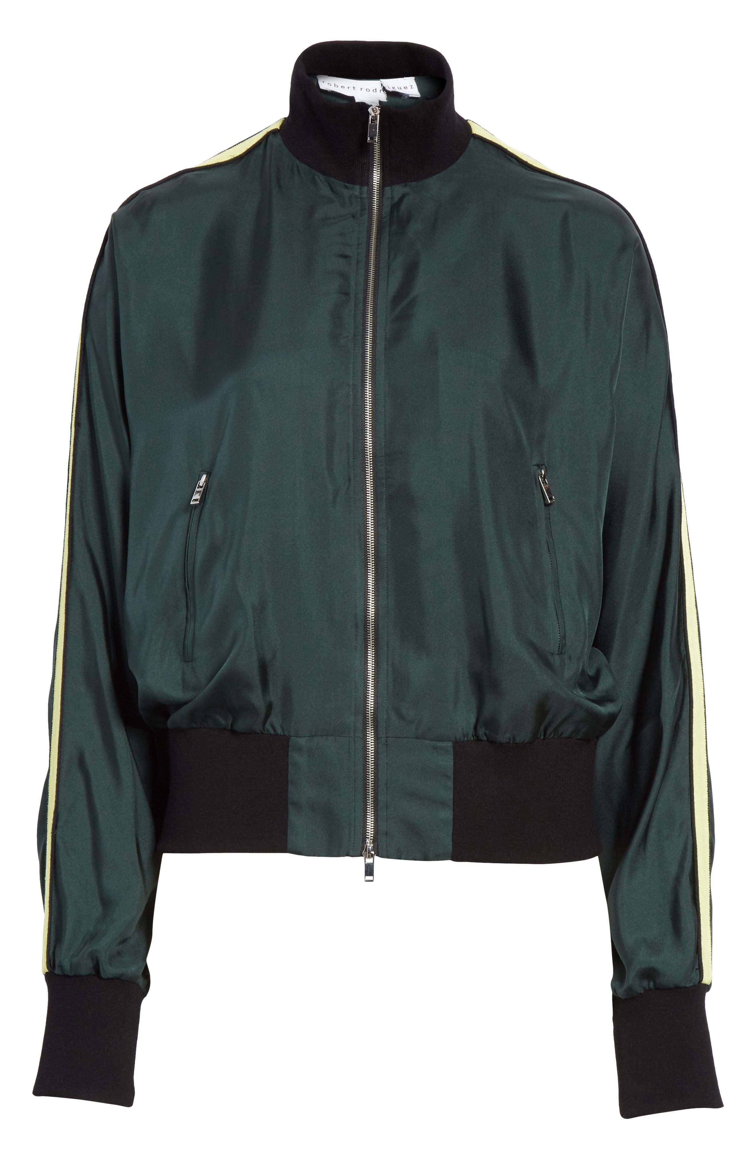 Silk Track Jacket,                             Alternate thumbnail 5, color,                             310