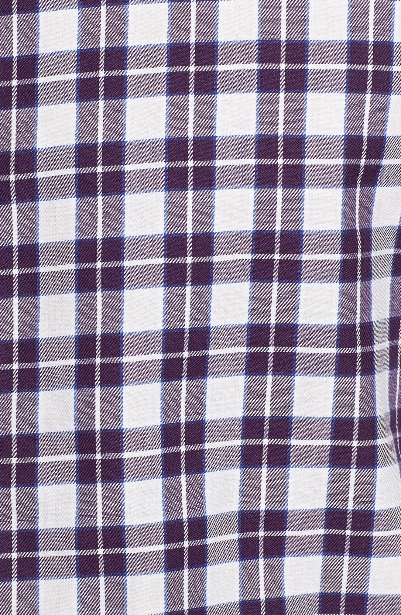 Cameron Regular Fit Plaid Sport Shirt,                             Alternate thumbnail 5, color,                             500