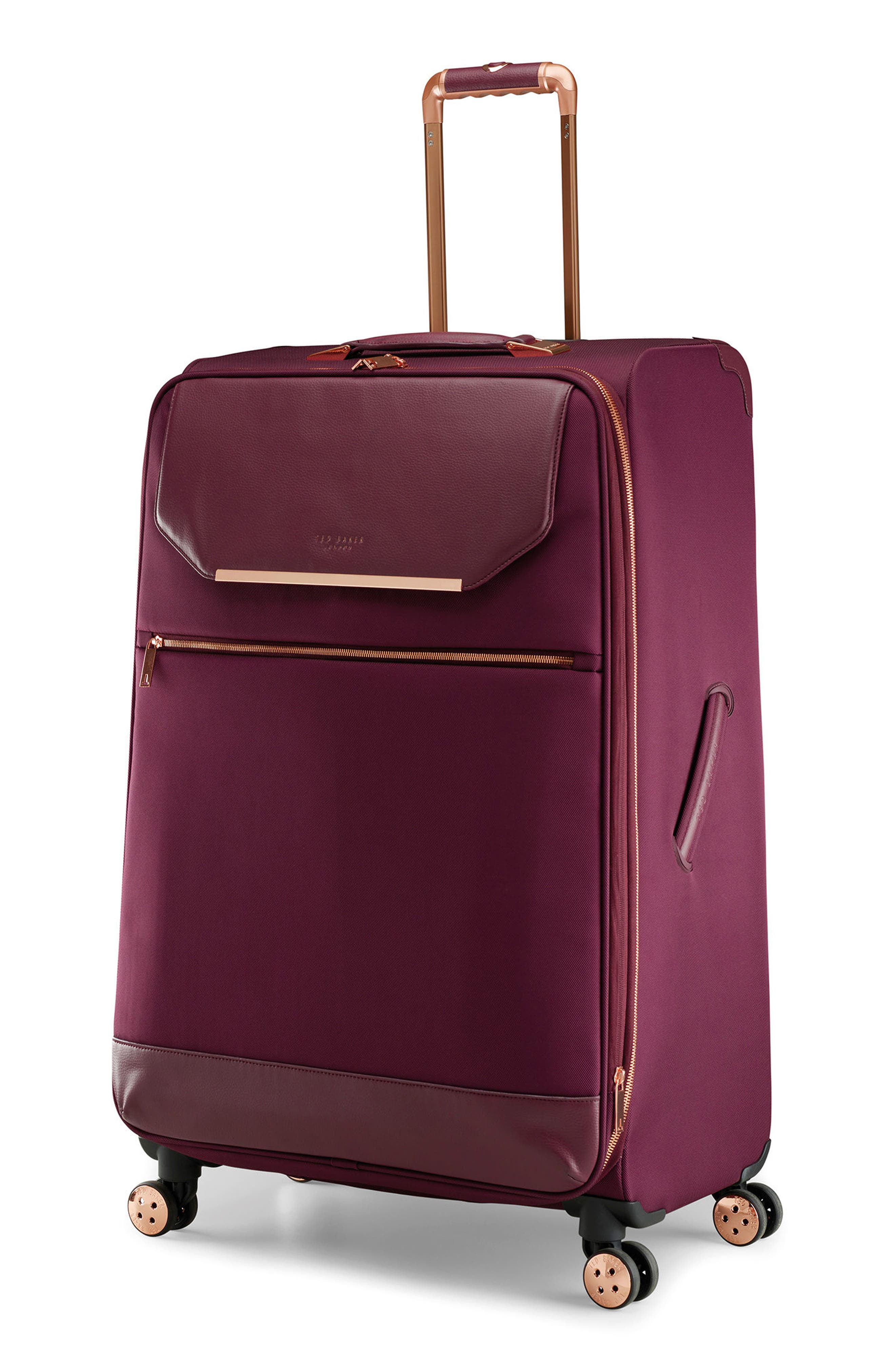 33-Inch Spinner Trolley Packing Case,                             Alternate thumbnail 3, color,                             BURGUNDY