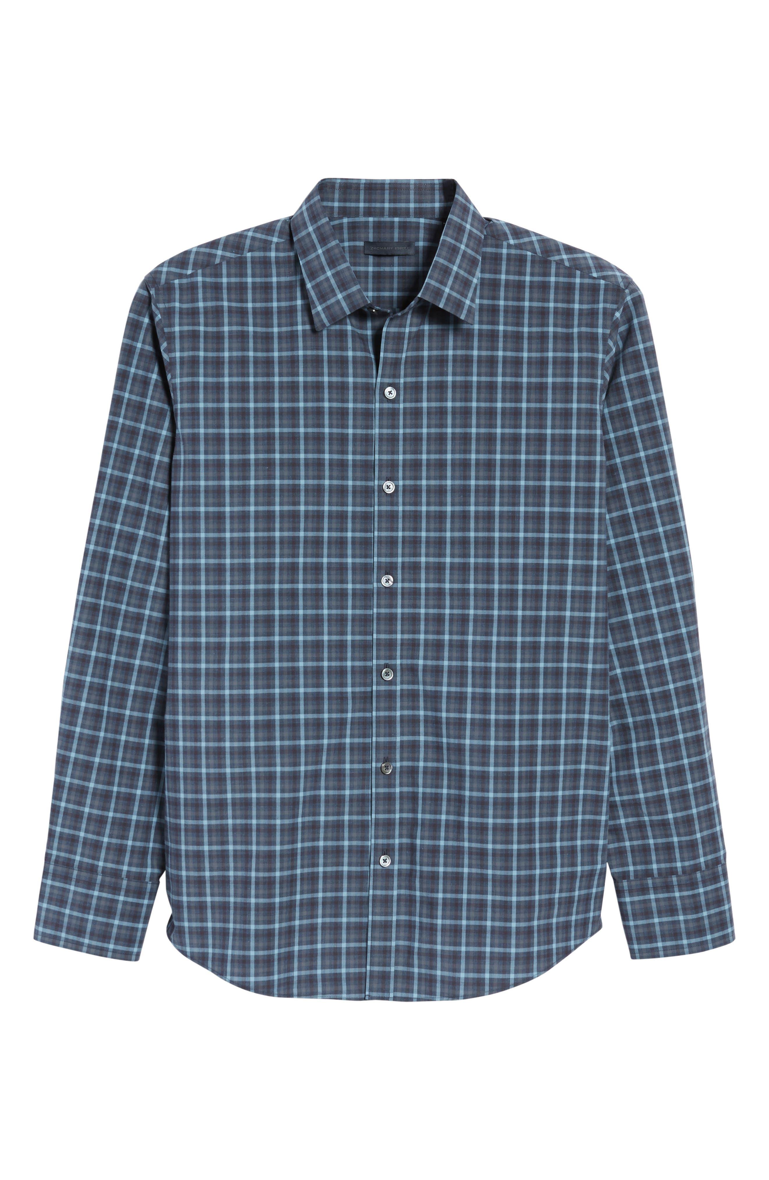 Lozado Check Sport Shirt,                             Alternate thumbnail 6, color,                             400