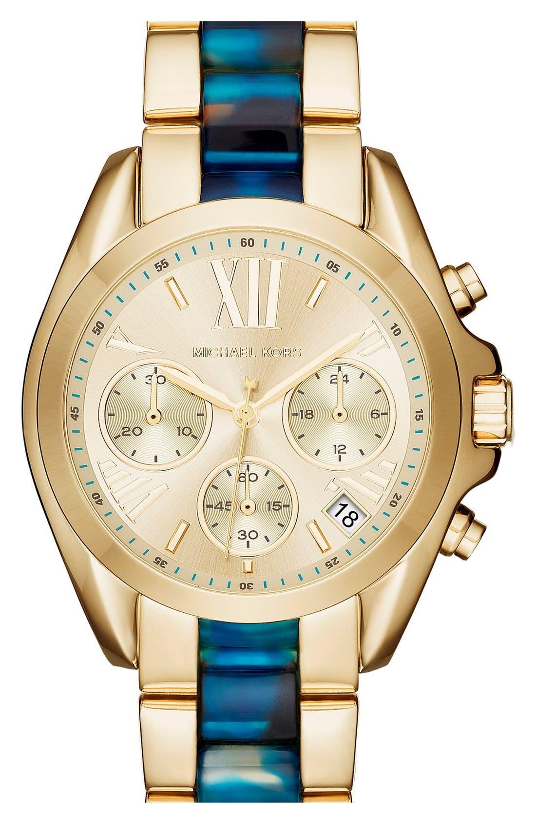 'Bradshaw - Mini' Chronograph Bracelet Watch, 36mm,                             Main thumbnail 6, color,