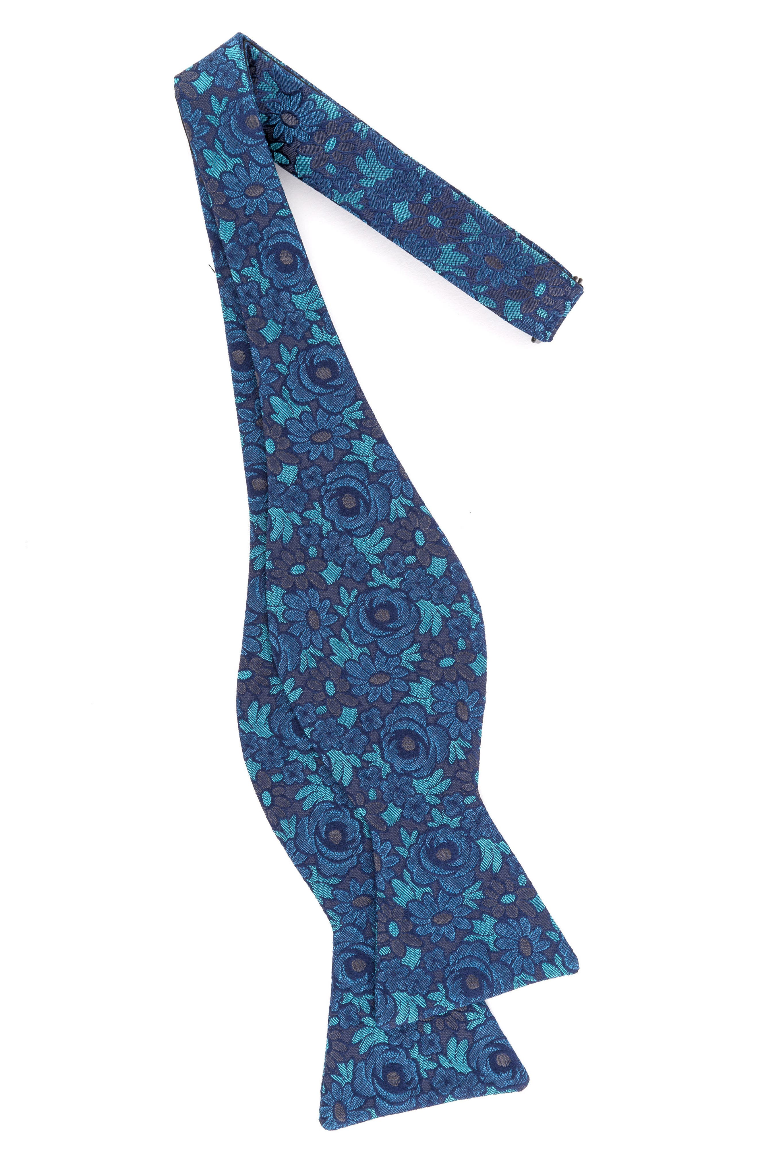 Botanical Silk Bow Tie,                             Alternate thumbnail 8, color,